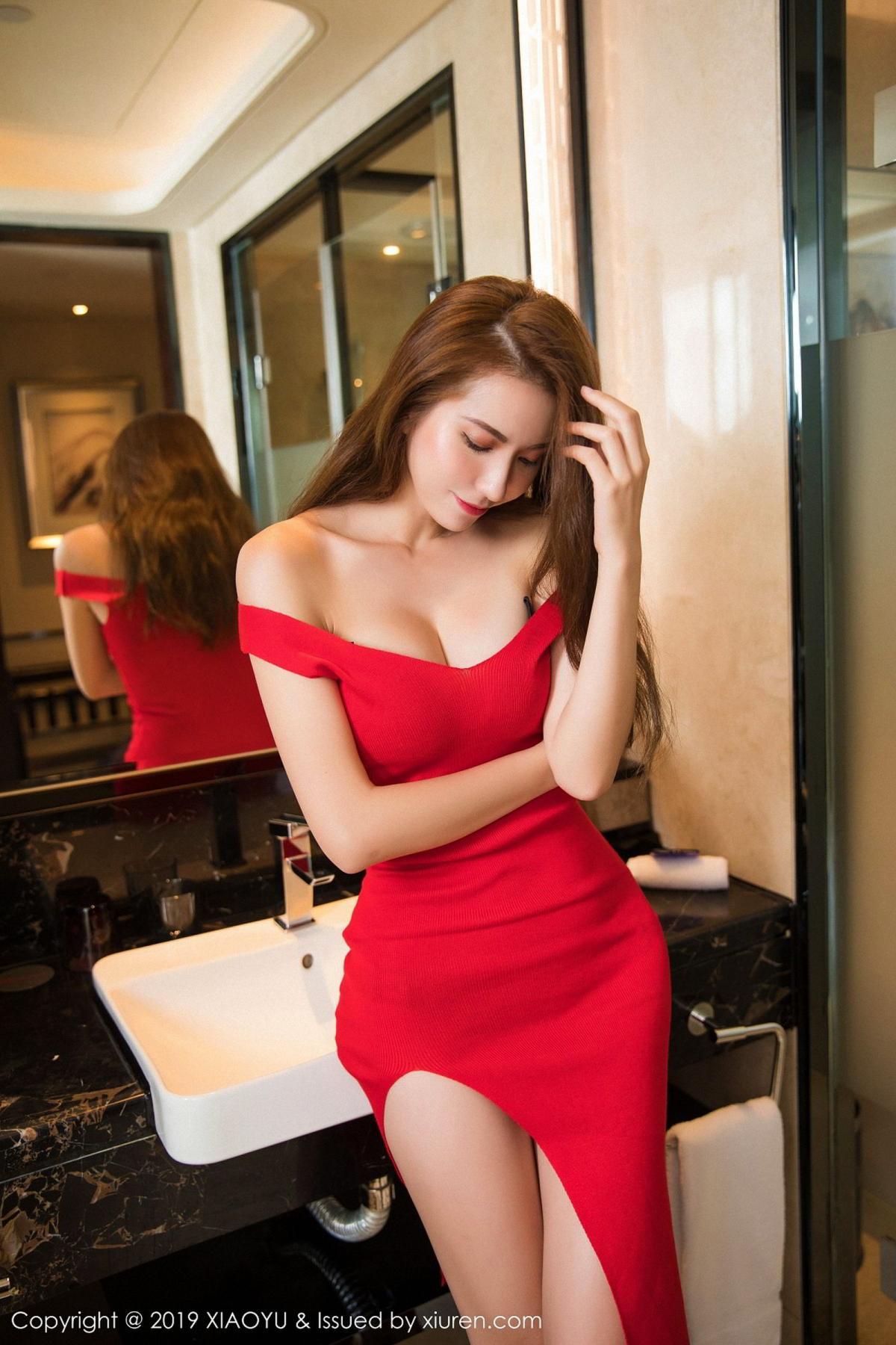 [XiaoYu] Vol.033 Chen Liang Ling 8P, Chen Liang Ling, Tall, Underwear, XiaoYu