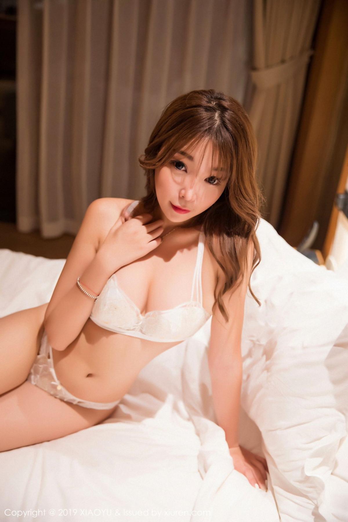 [XiaoYu] Vol.042 Chen Zhi 40P, Chen Zhi, Underwear, XiaoYu