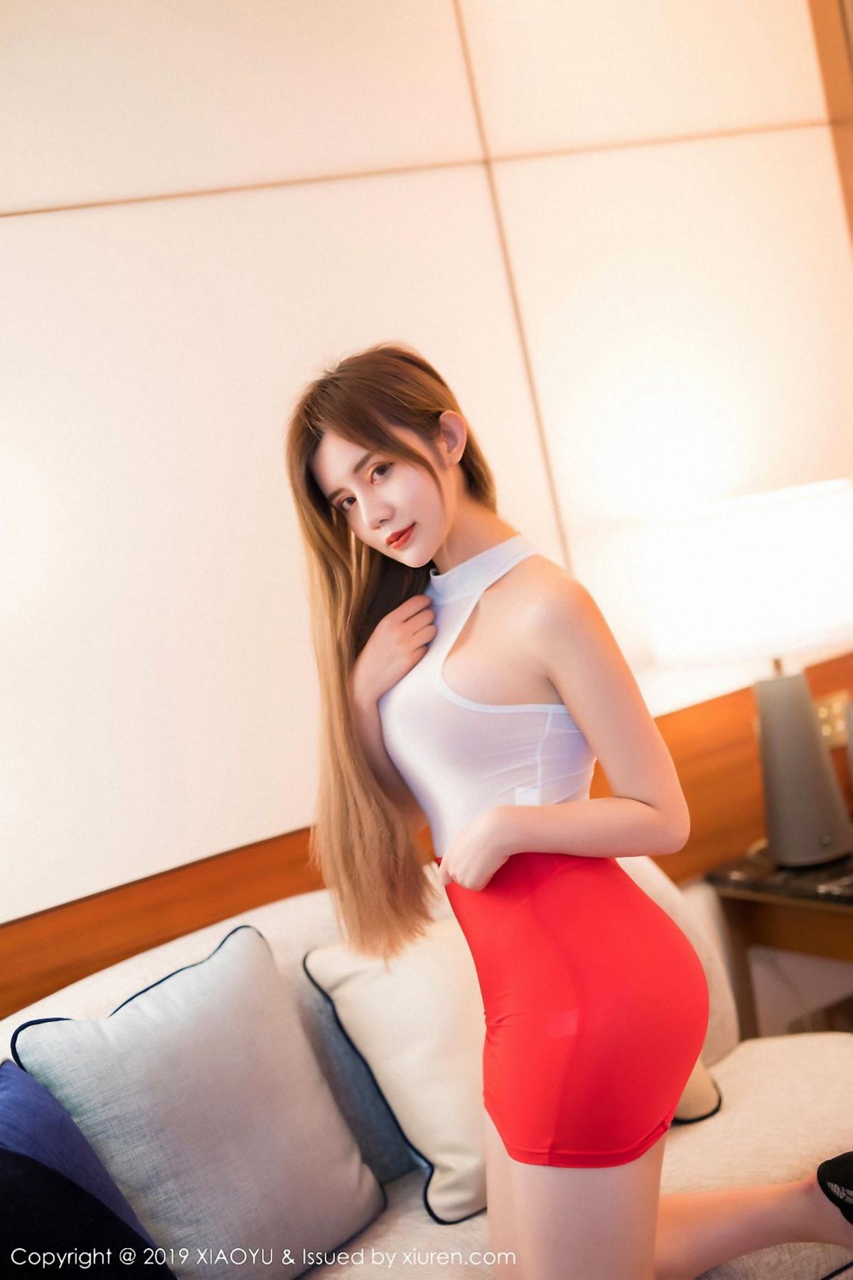 [XiaoYu] Vol.043 Zhuo Ya Qi 10P, Tall, XiaoYu, Zhuo Ya Qi
