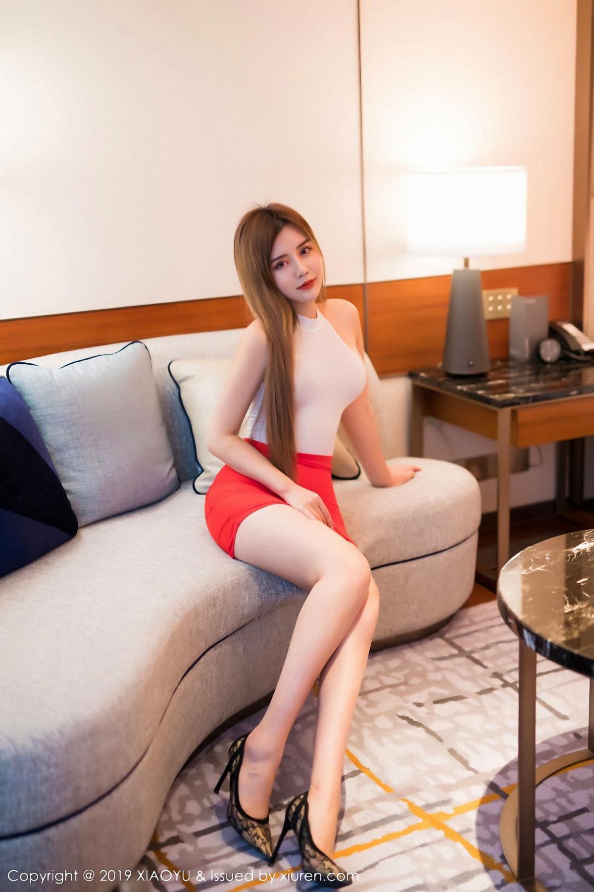 [XiaoYu] Vol.043 Zhuo Ya Qi 1P, Tall, XiaoYu, Zhuo Ya Qi