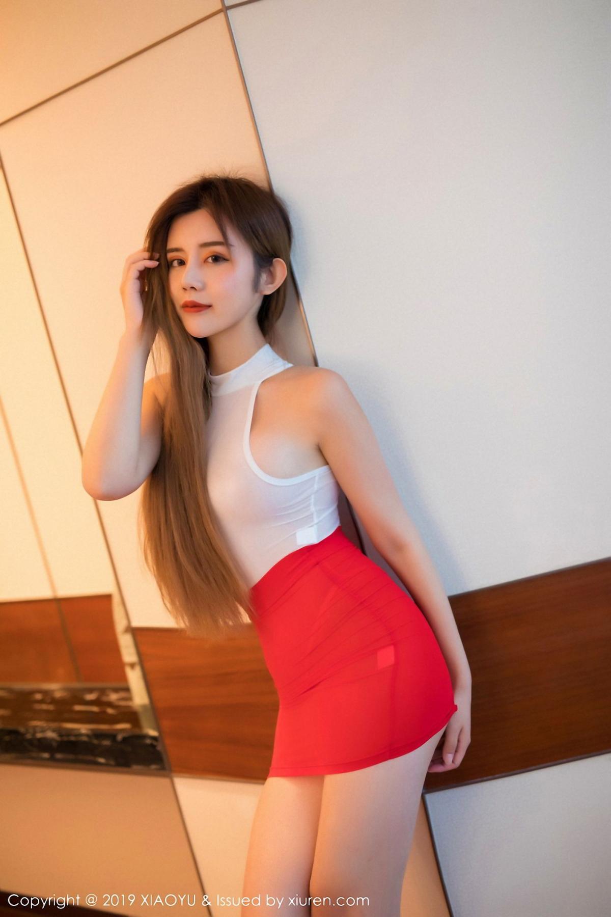 [XiaoYu] Vol.043 Zhuo Ya Qi 3P, Tall, XiaoYu, Zhuo Ya Qi
