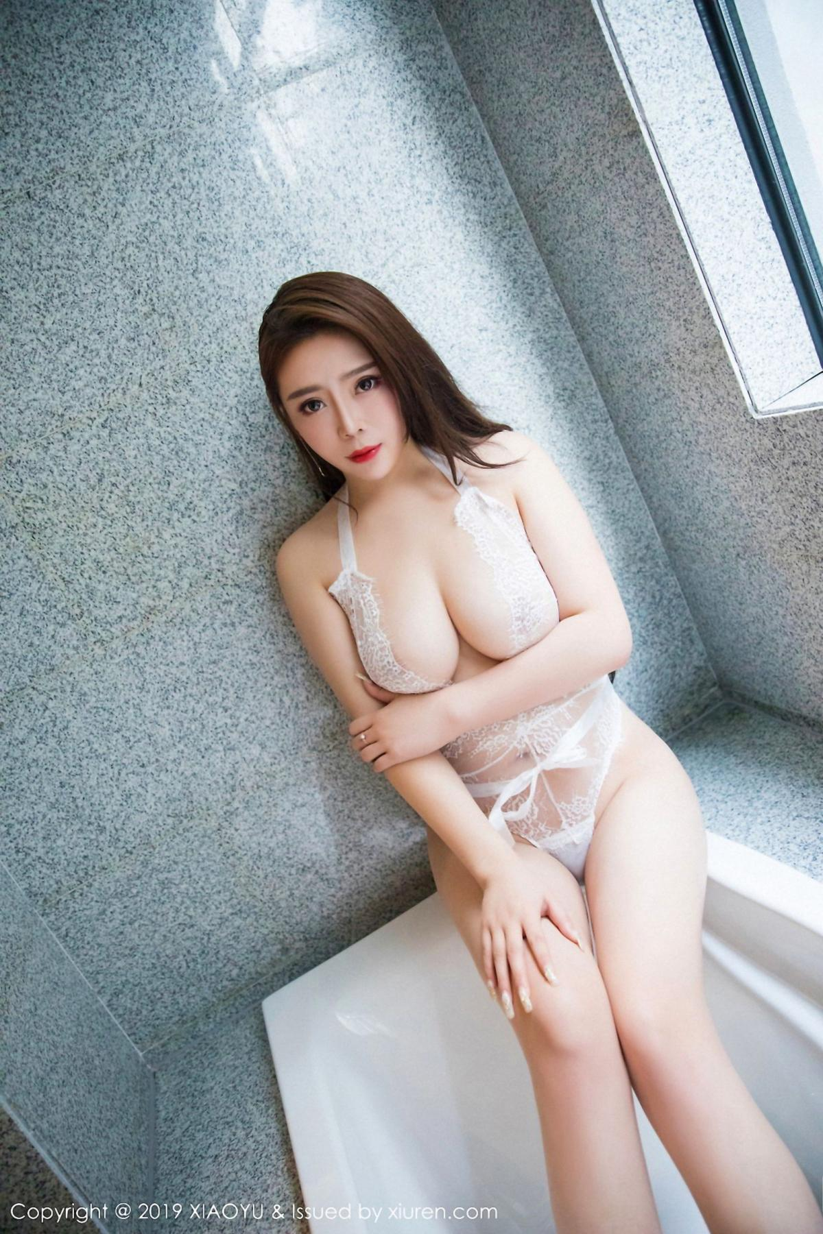 [XiaoYu] Vol.044 Miki Tu 18P, Black Silk, Miki Tu, Underwear, XiaoYu