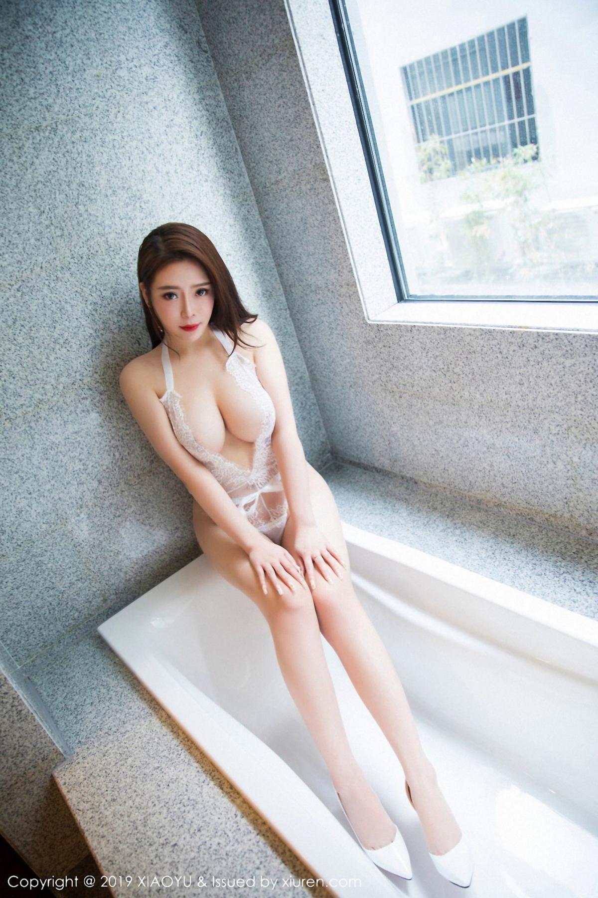 [XiaoYu] Vol.044 Miki Tu 21P, Black Silk, Miki Tu, Underwear, XiaoYu