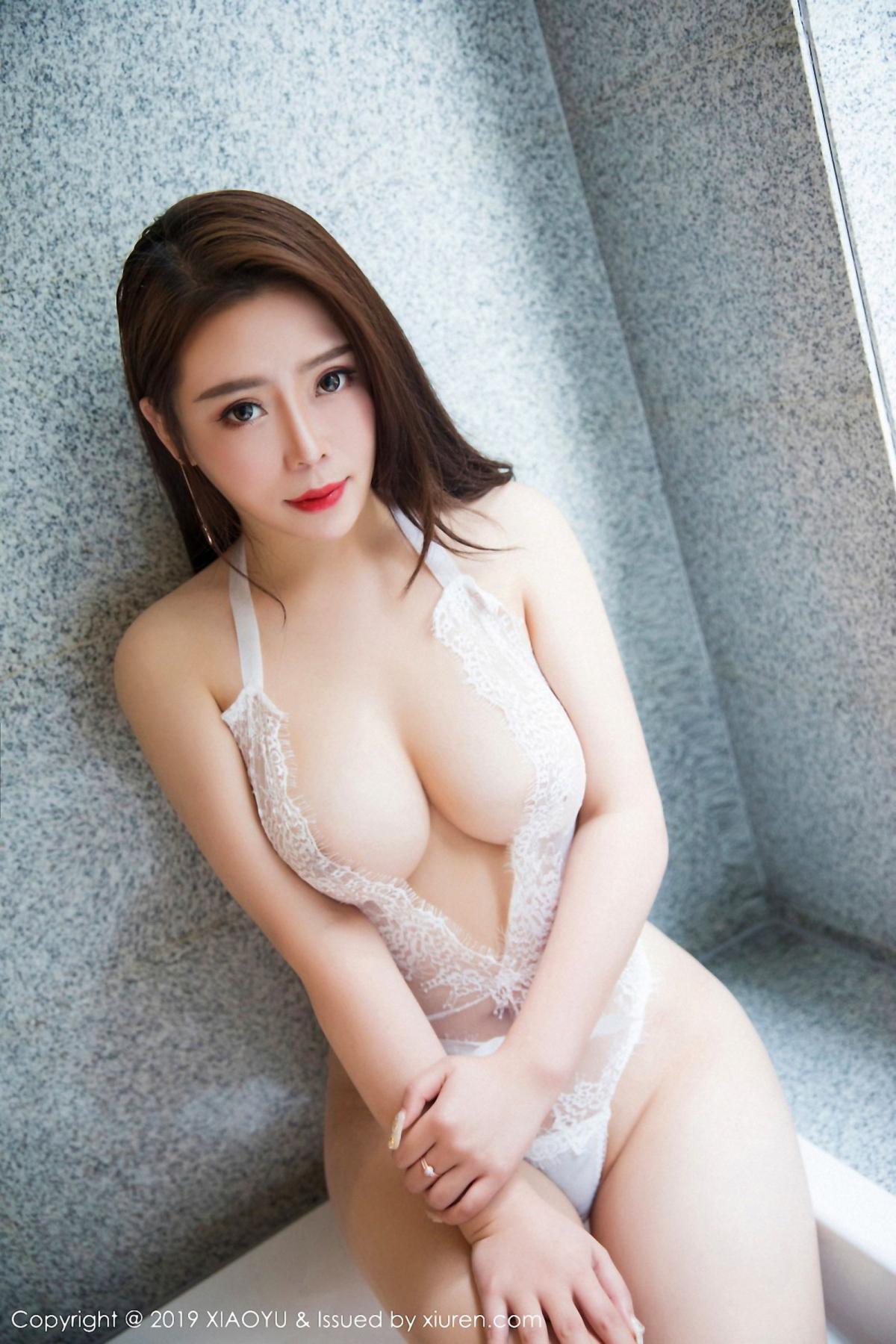 [XiaoYu] Vol.044 Miki Tu 22P, Black Silk, Miki Tu, Underwear, XiaoYu