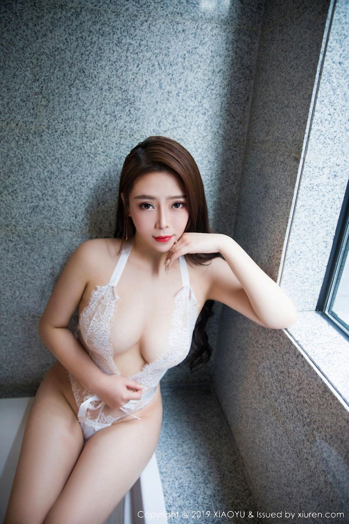 [XiaoYu] Vol.044 Miki Tu 23P, Black Silk, Miki Tu, Underwear, XiaoYu