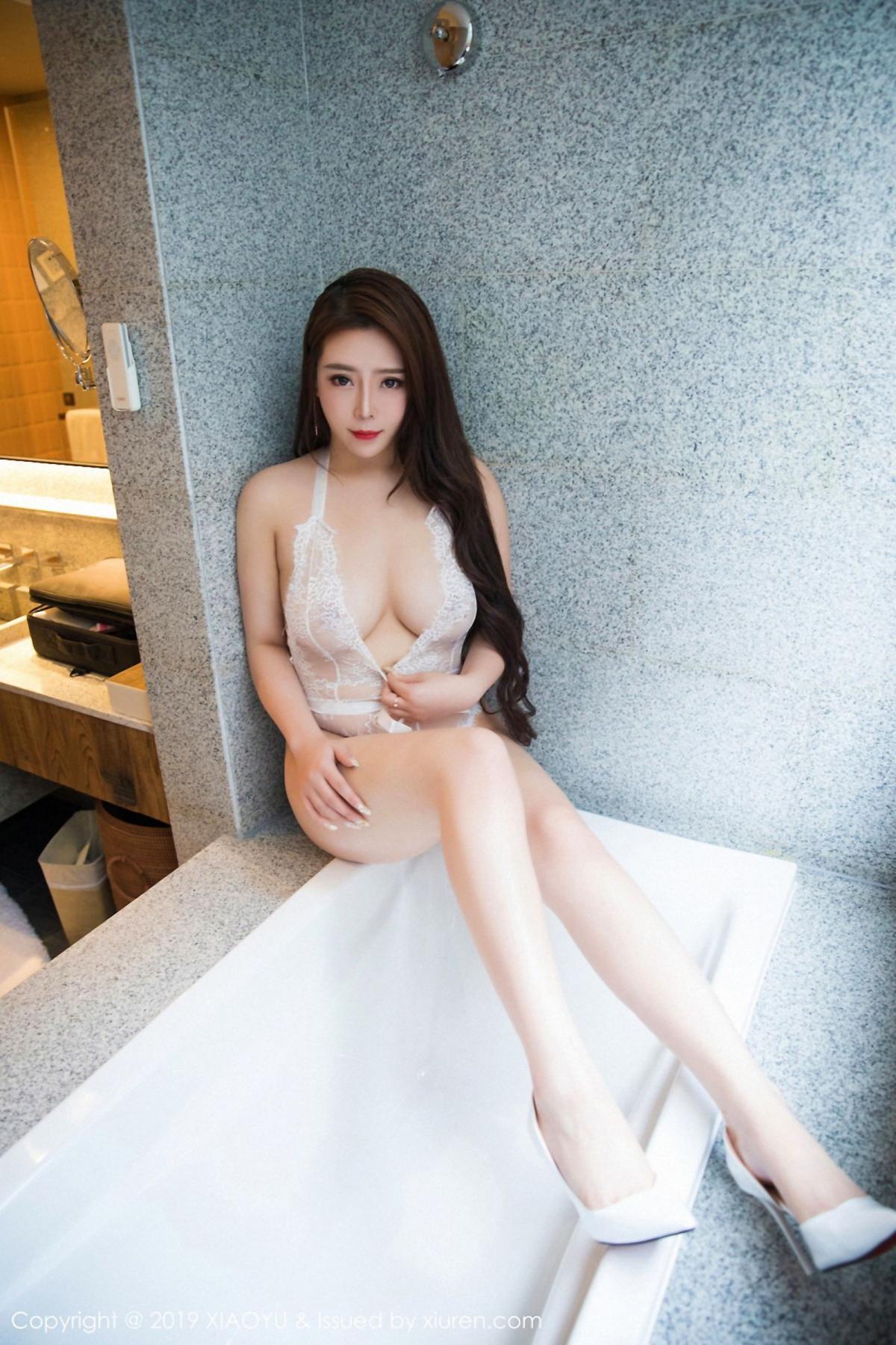 [XiaoYu] Vol.044 Miki Tu 24P, Black Silk, Miki Tu, Underwear, XiaoYu