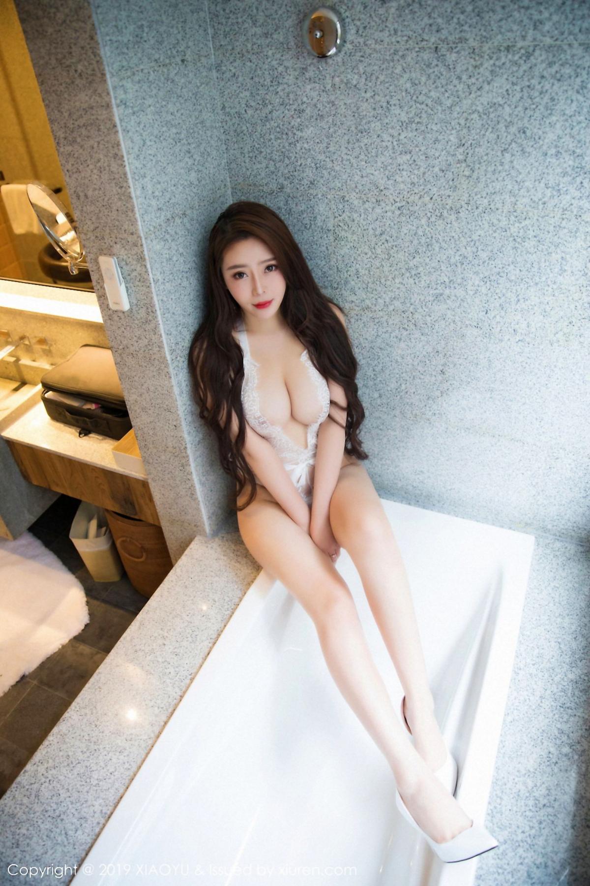 [XiaoYu] Vol.044 Miki Tu 26P, Black Silk, Miki Tu, Underwear, XiaoYu