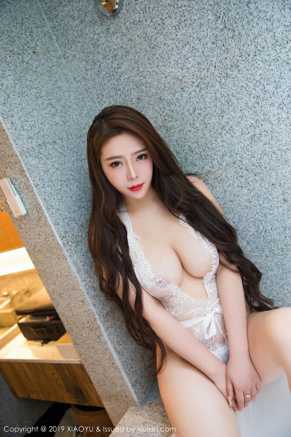 [XiaoYu] Vol.044 Miki Tu 28P, Black Silk, Miki Tu, Underwear, XiaoYu