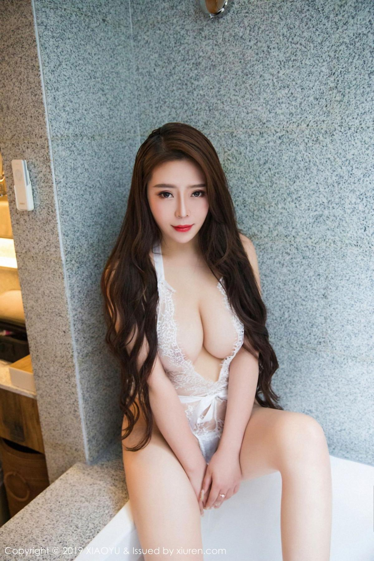 [XiaoYu] Vol.044 Miki Tu 29P, Black Silk, Miki Tu, Underwear, XiaoYu