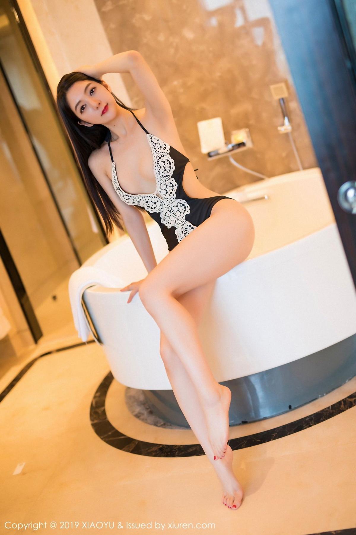 [XiaoYu] Vol.046 Angela Xi Huan Mao 10P, Di Yi, Tall, Underwear, XiaoYu