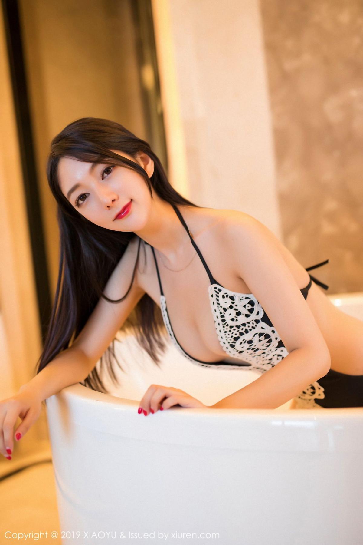 [XiaoYu] Vol.046 Angela Xi Huan Mao 14P, Di Yi, Tall, Underwear, XiaoYu