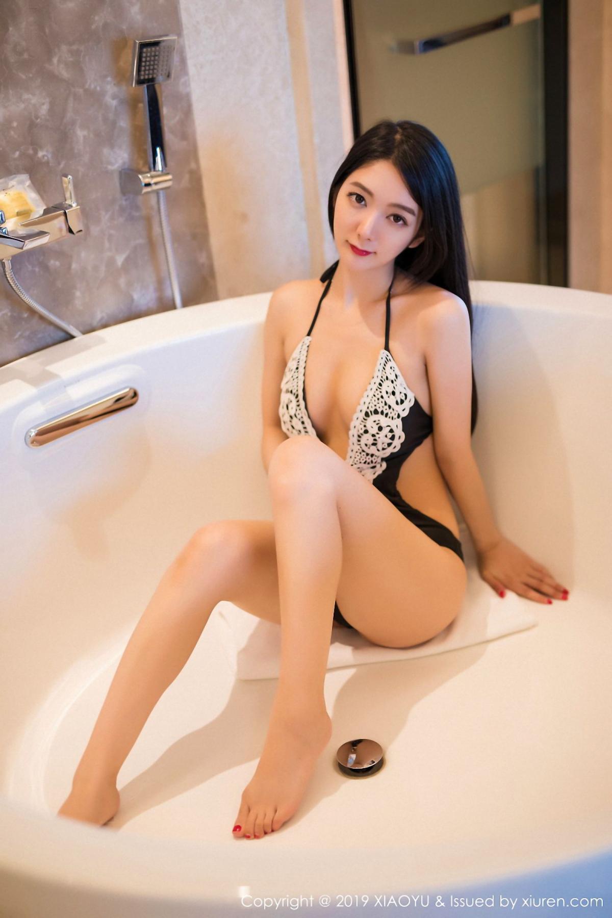 [XiaoYu] Vol.046 Angela Xi Huan Mao 3P, Di Yi, Tall, Underwear, XiaoYu