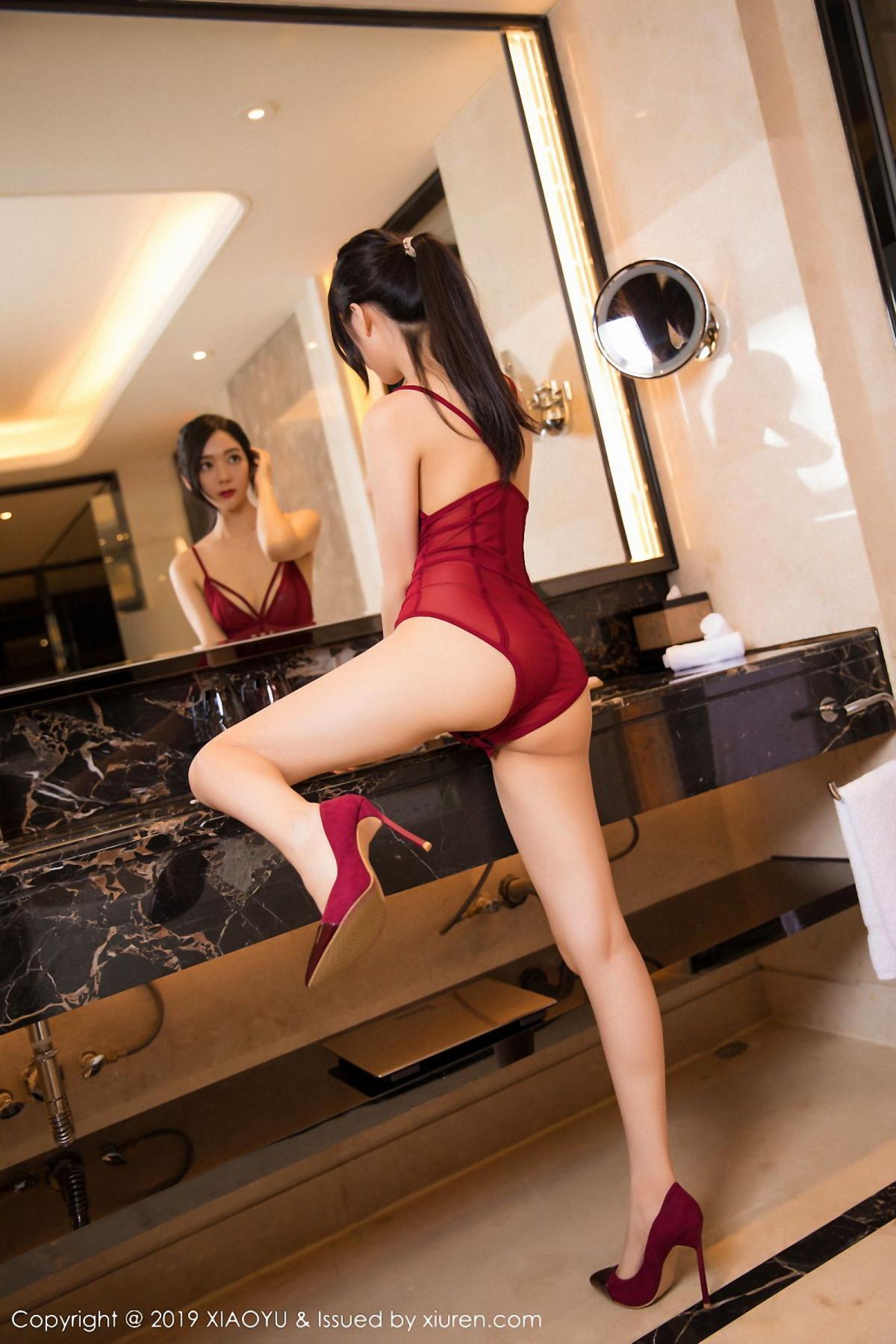 [XiaoYu] Vol.046 Angela Xi Huan Mao 42P, Di Yi, Tall, Underwear, XiaoYu