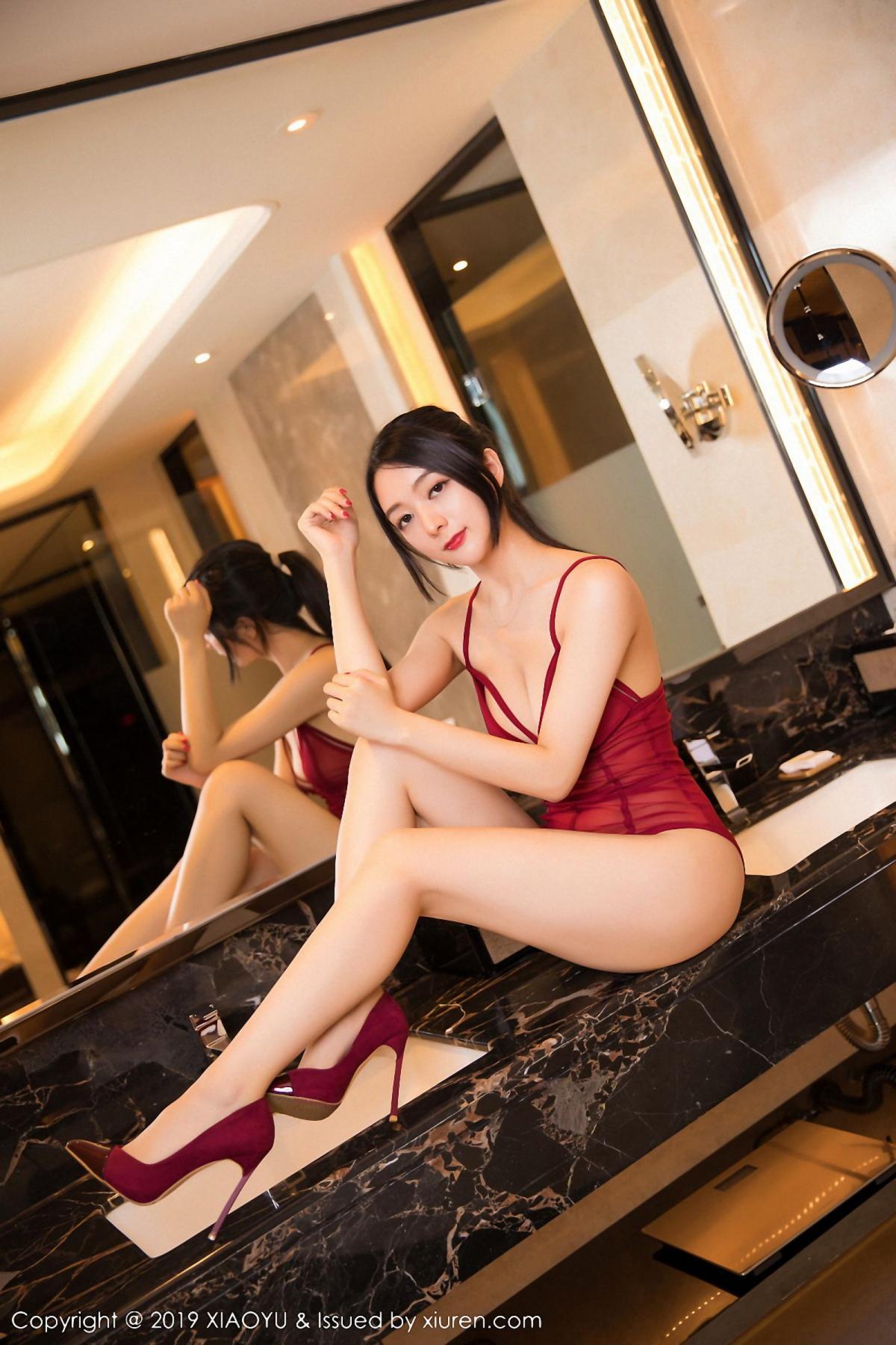 [XiaoYu] Vol.046 Angela Xi Huan Mao 43P, Di Yi, Tall, Underwear, XiaoYu