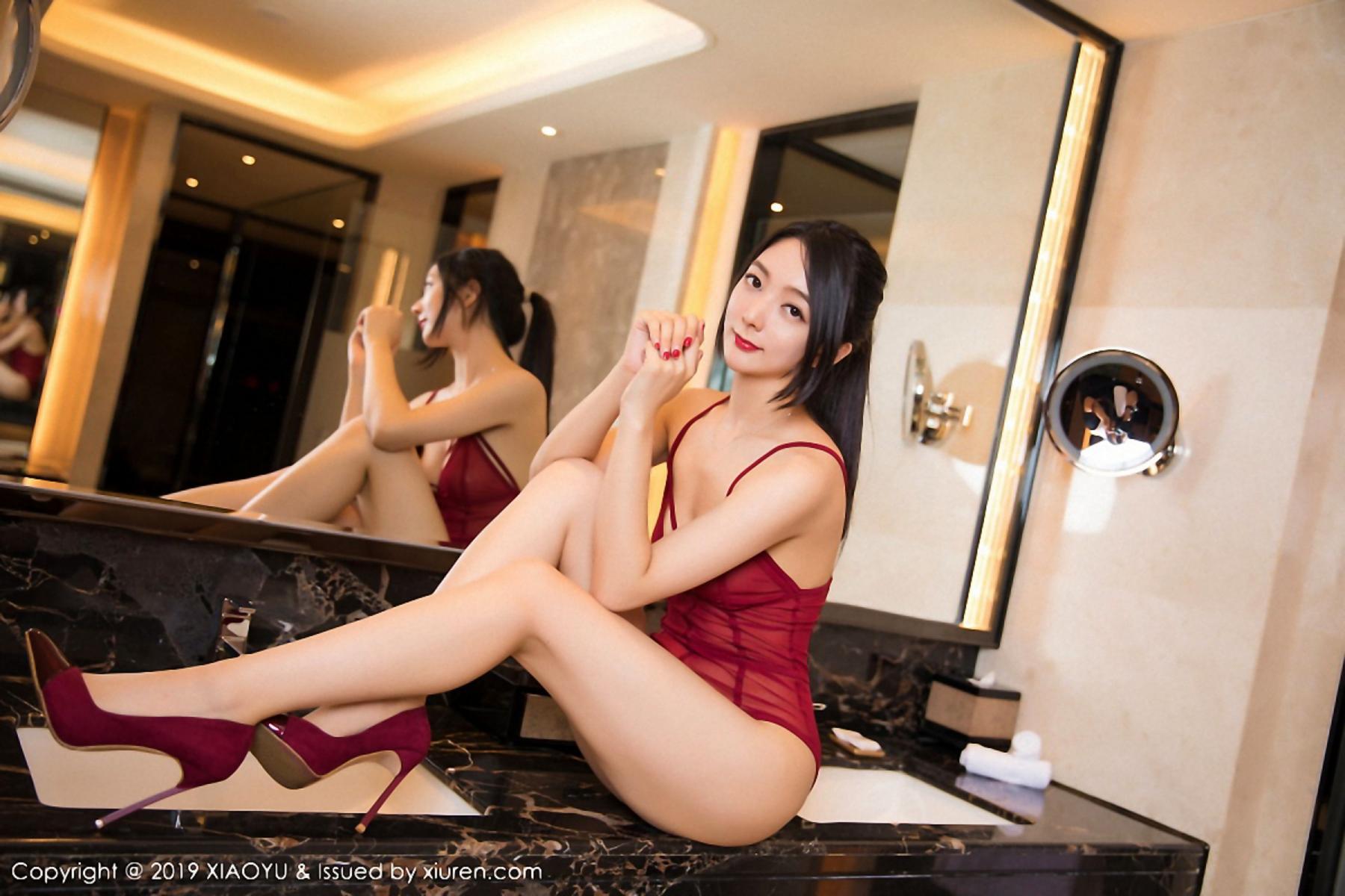 [XiaoYu] Vol.046 Angela Xi Huan Mao 44P, Di Yi, Tall, Underwear, XiaoYu
