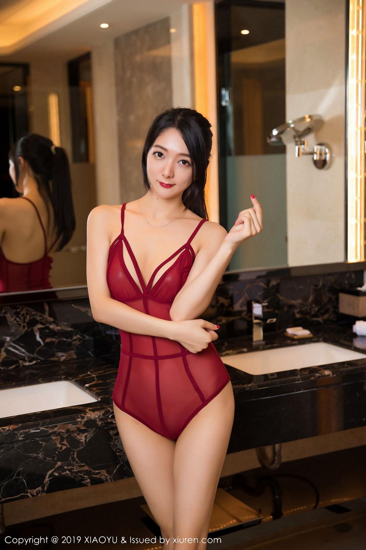 [XiaoYu] Vol.046 Angela Xi Huan Mao 49P, Di Yi, Tall, Underwear, XiaoYu