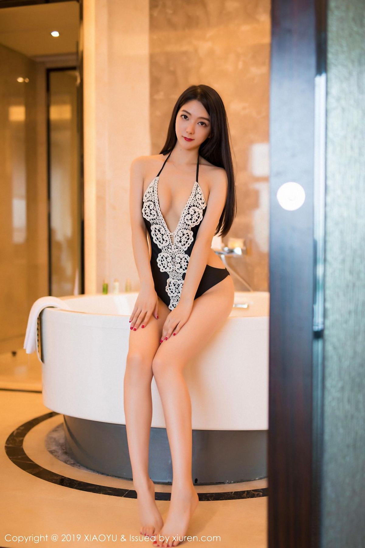 [XiaoYu] Vol.046 Angela Xi Huan Mao 6P, Di Yi, Tall, Underwear, XiaoYu