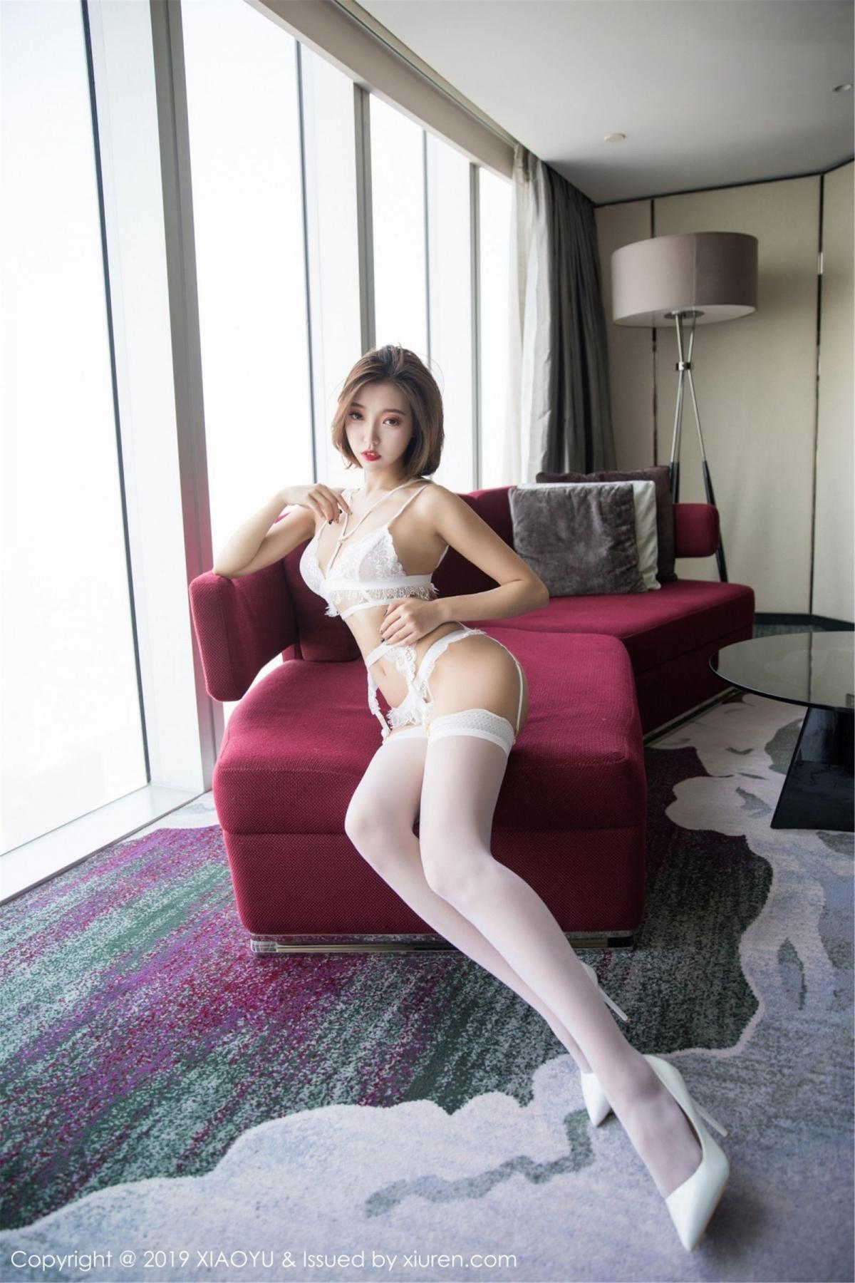 [XiaoYu] Vol.053 Lris 10P, Feng Mu Mu, Tall, Underwear, XiaoYu