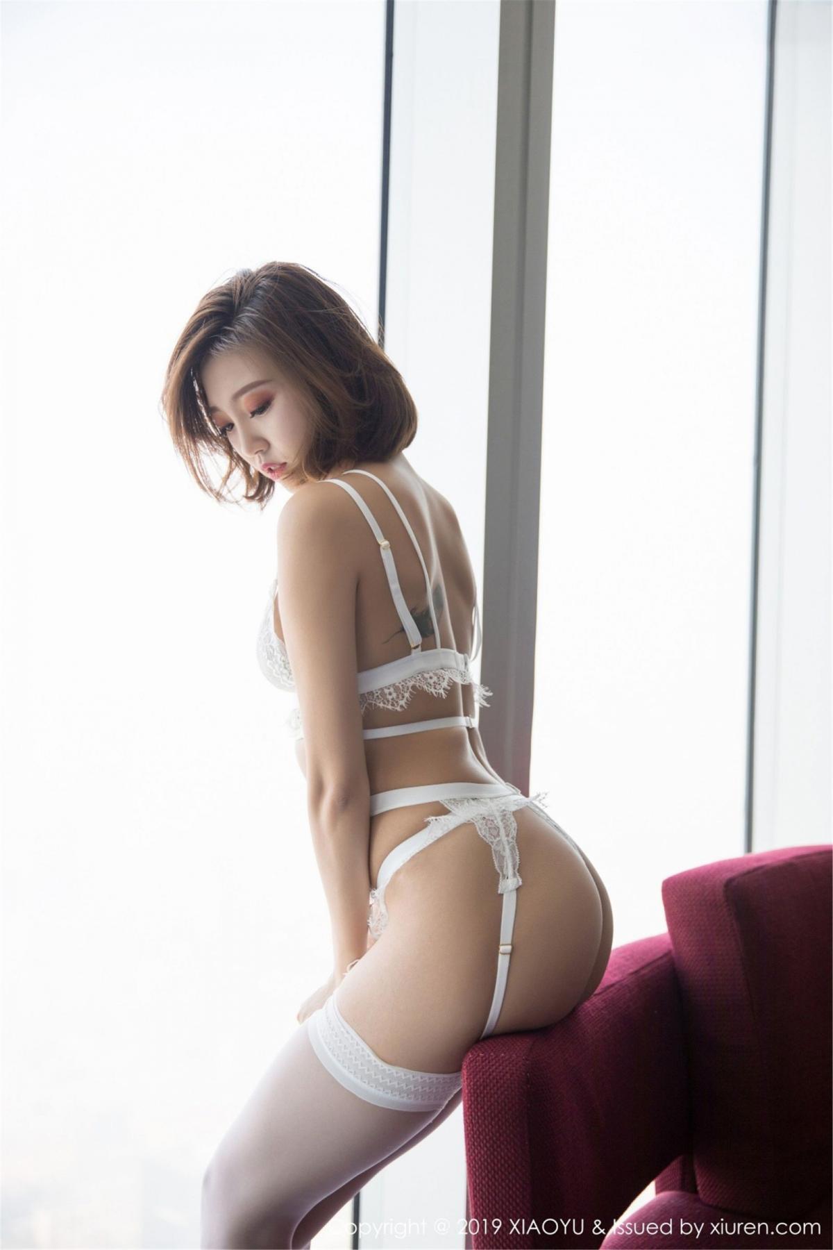 [XiaoYu] Vol.053 Lris 14P, Feng Mu Mu, Tall, Underwear, XiaoYu