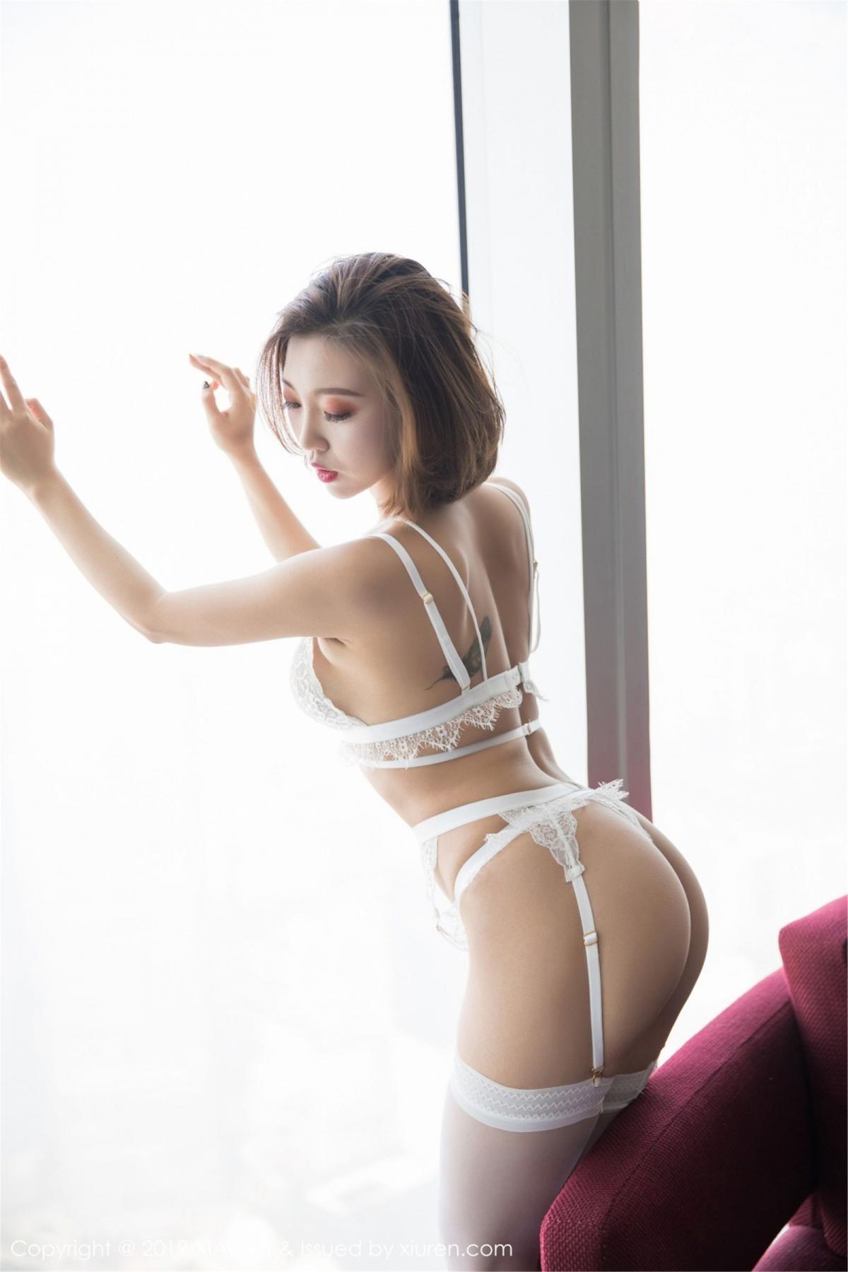 [XiaoYu] Vol.053 Lris 15P, Feng Mu Mu, Tall, Underwear, XiaoYu