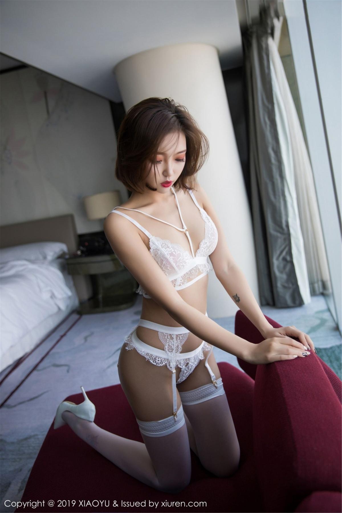 [XiaoYu] Vol.053 Lris 31P, Feng Mu Mu, Tall, Underwear, XiaoYu