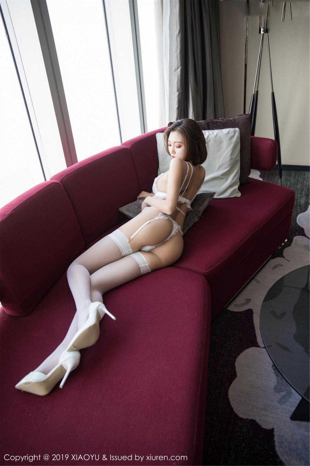 [XiaoYu] Vol.053 Lris 34P, Feng Mu Mu, Tall, Underwear, XiaoYu