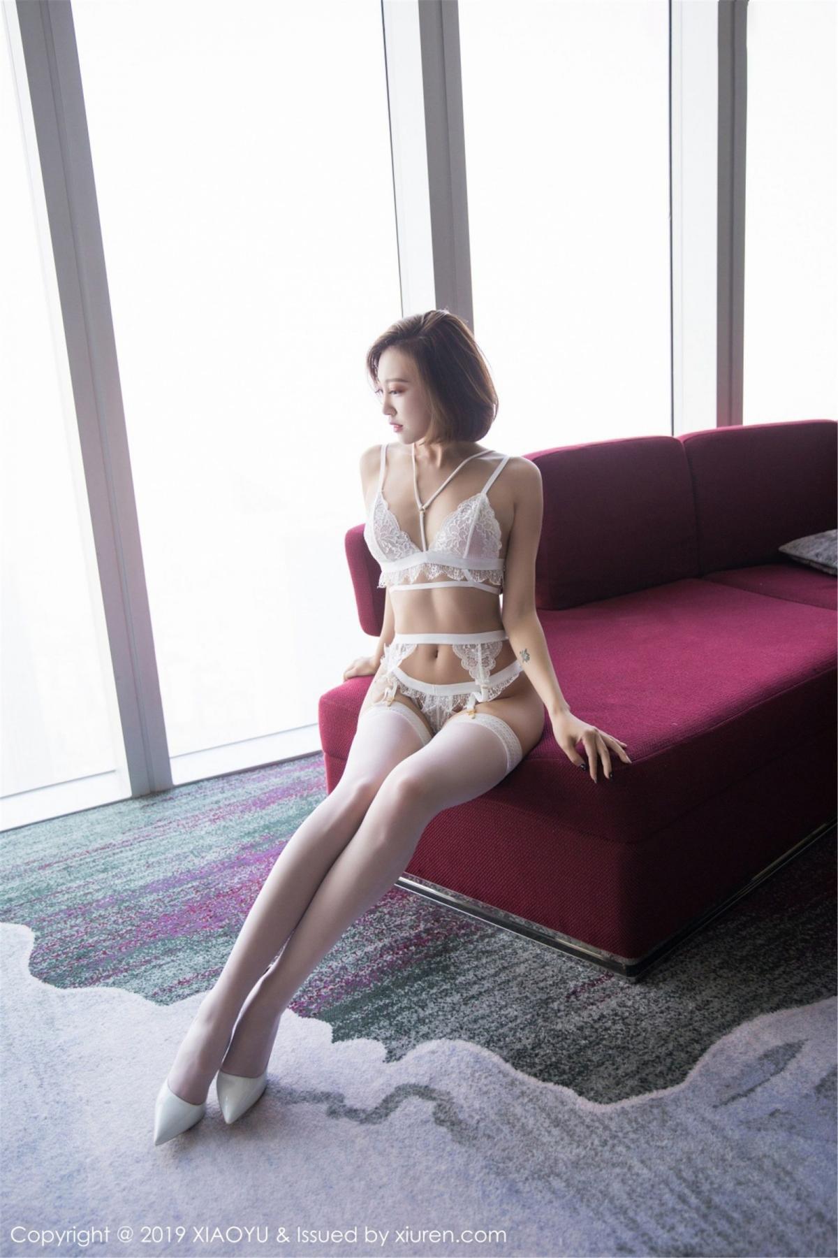 [XiaoYu] Vol.053 Lris 49P, Feng Mu Mu, Tall, Underwear, XiaoYu