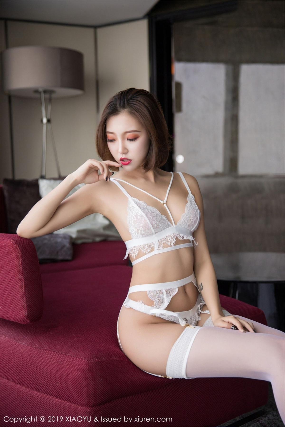 [XiaoYu] Vol.053 Lris 54P, Feng Mu Mu, Tall, Underwear, XiaoYu