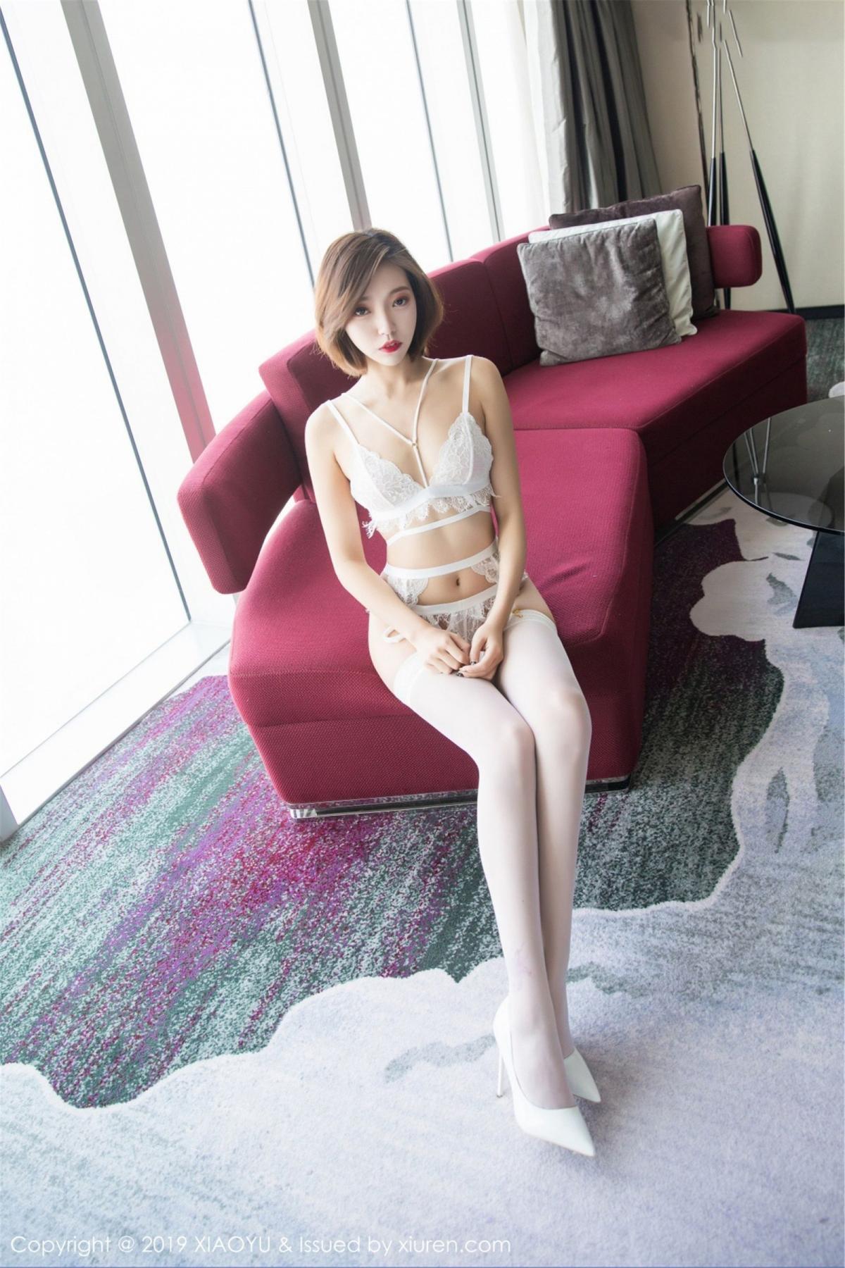 [XiaoYu] Vol.053 Lris 6P, Feng Mu Mu, Tall, Underwear, XiaoYu