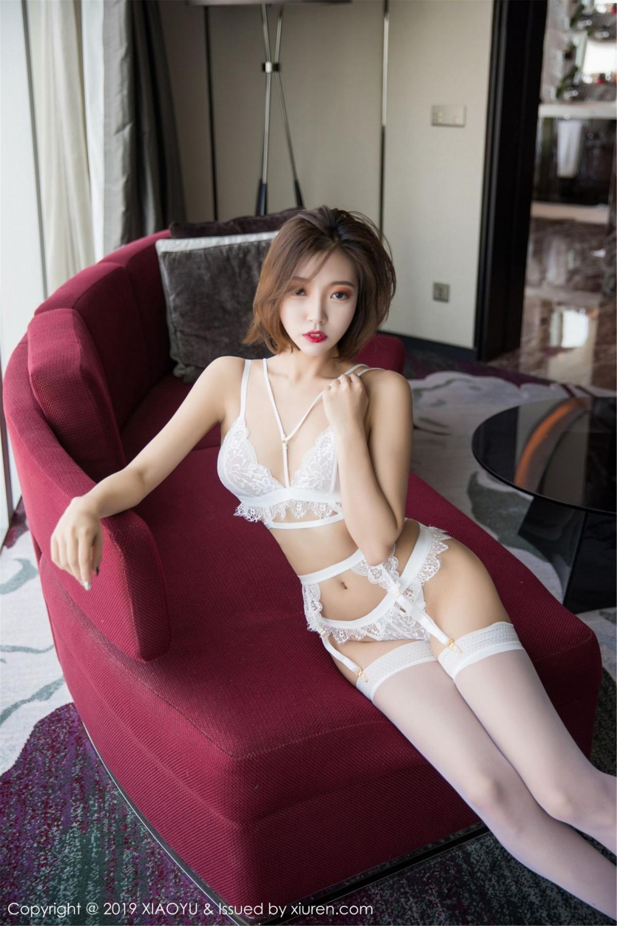 [XiaoYu] Vol.053 Lris 9P, Feng Mu Mu, Tall, Underwear, XiaoYu