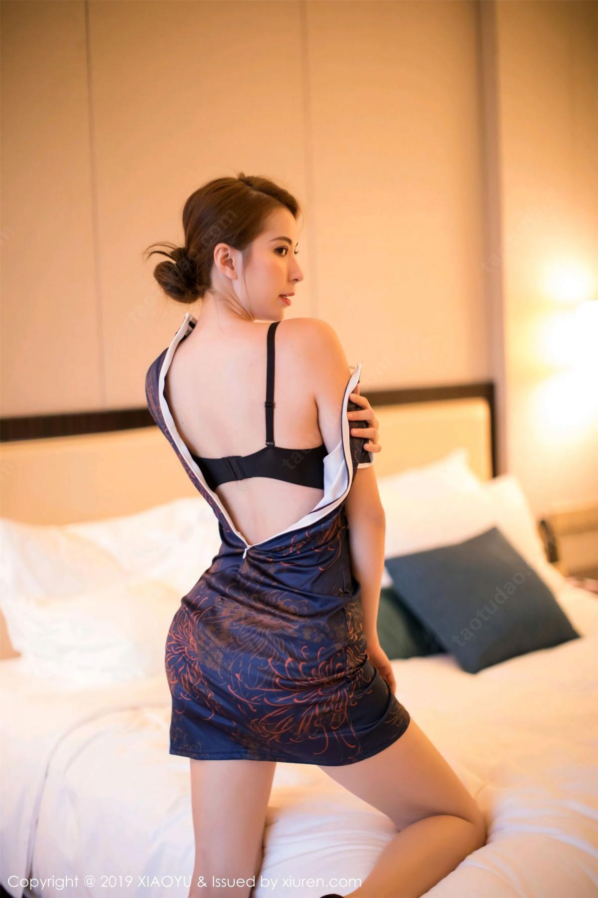 [XiaoYu] Vol.055 Carry Chan 34P, Chen Liang Ling, Cheongsam, XiaoYu