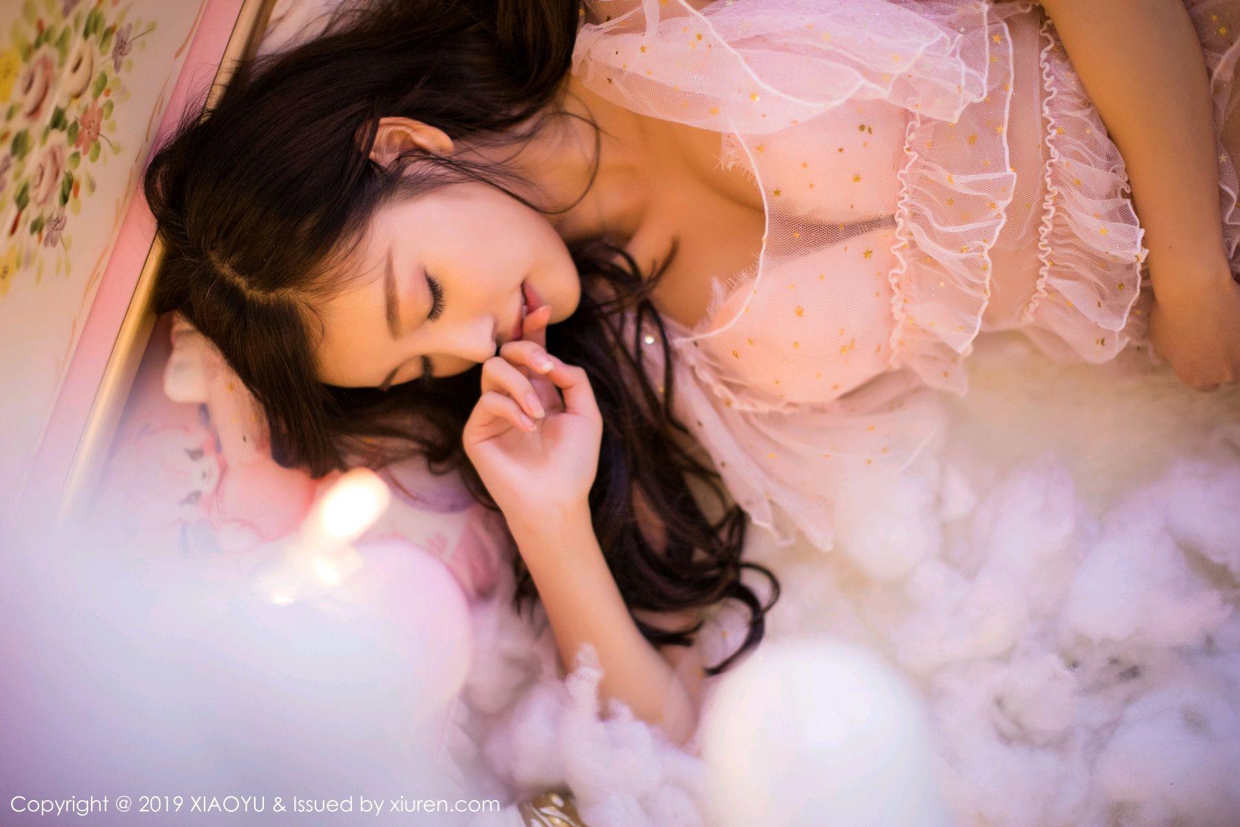 [XiaoYu] Vol.059 Christmas Theme 11P, Christmas, Underwear, XiaoYu, Yang Chen Chen