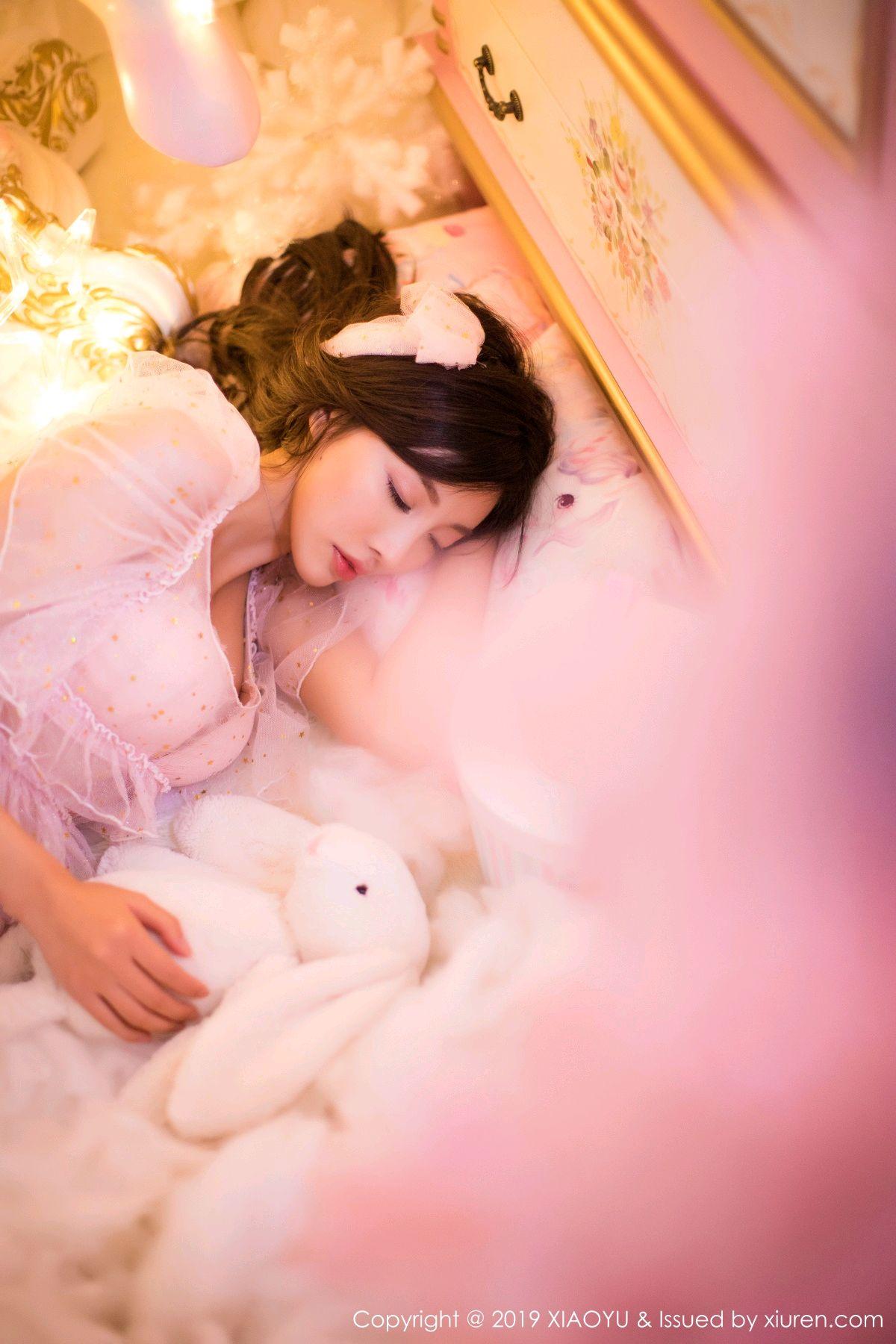 [XiaoYu] Vol.059 Christmas Theme 12P, Christmas, Underwear, XiaoYu, Yang Chen Chen