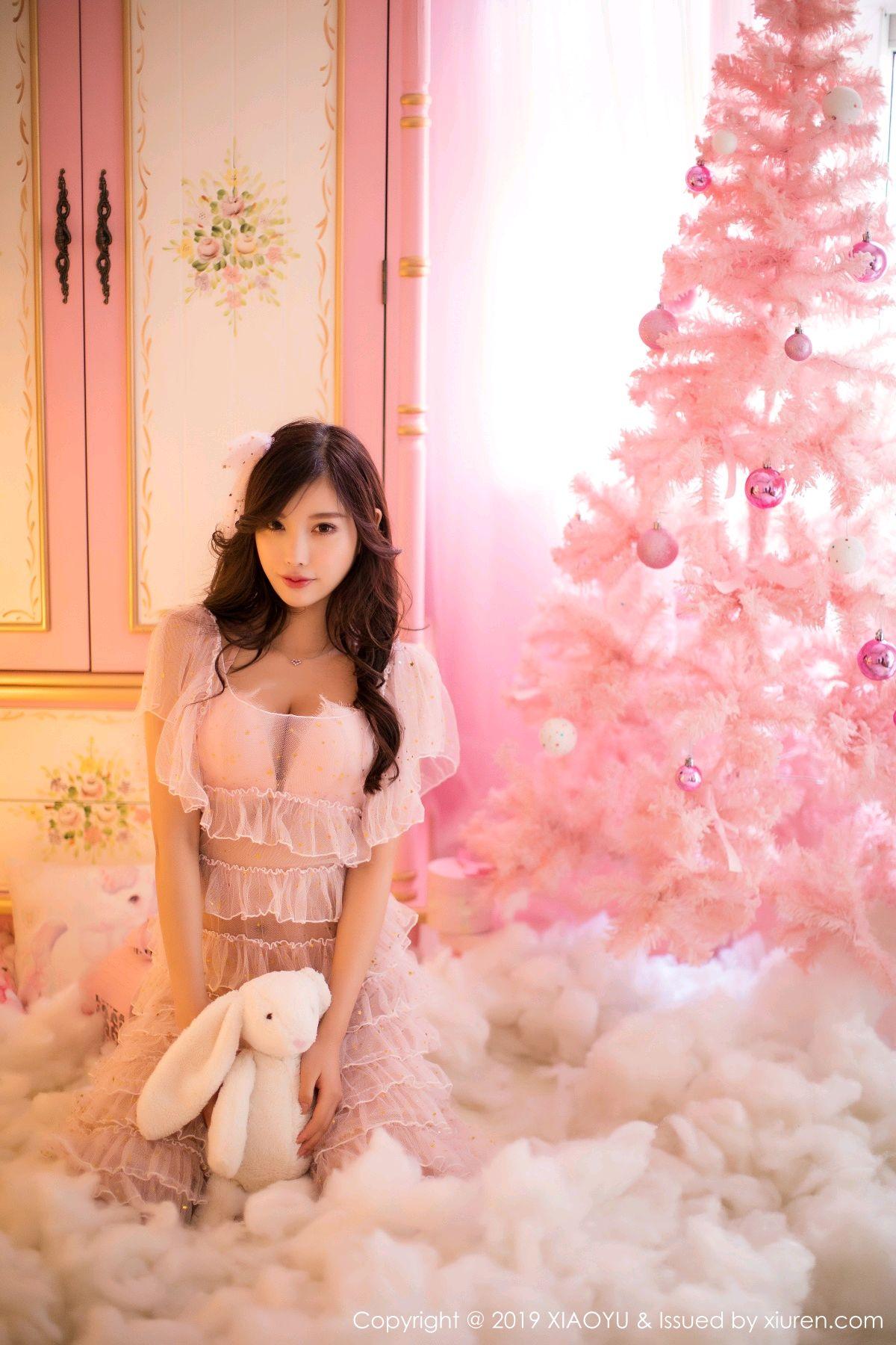 [XiaoYu] Vol.059 Christmas Theme 1P, Christmas, Underwear, XiaoYu, Yang Chen Chen