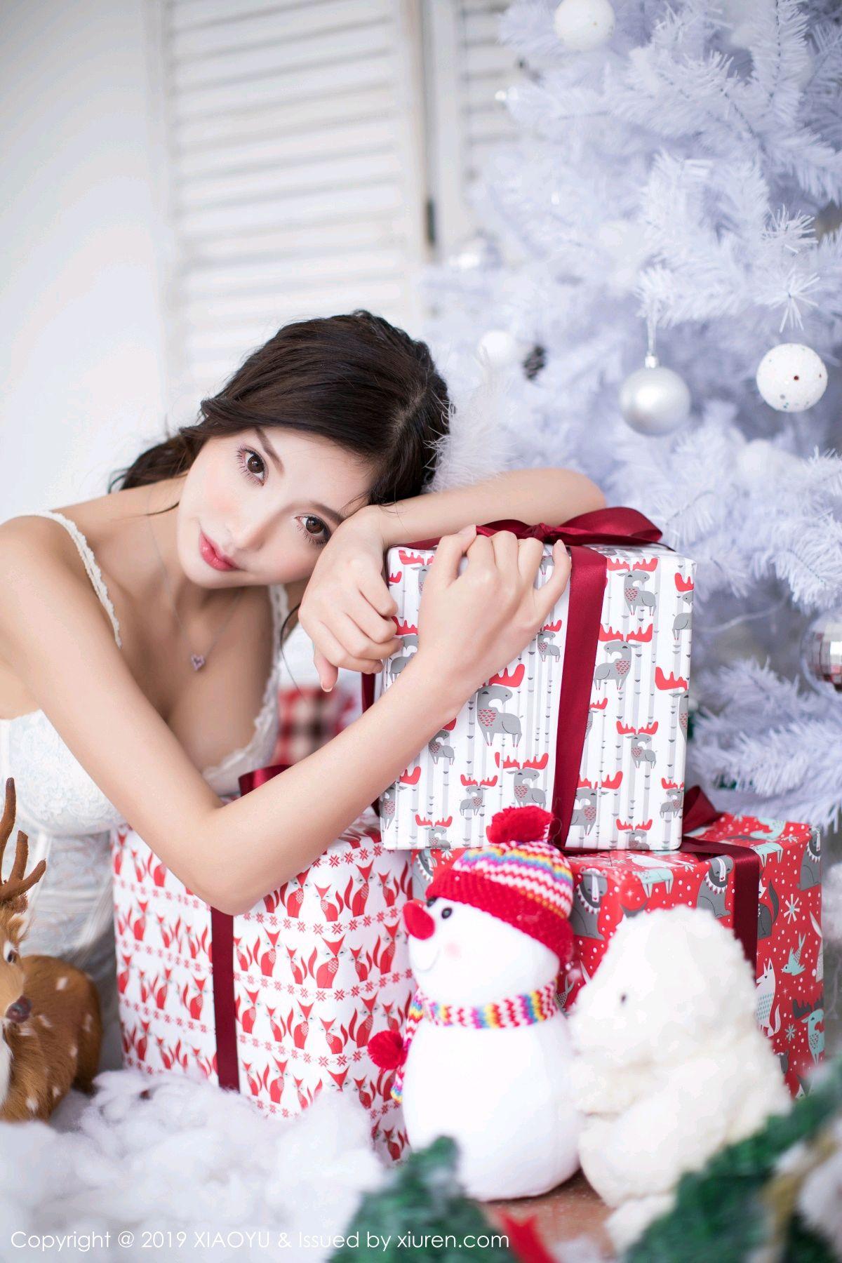 [XiaoYu] Vol.059 Christmas Theme 21P, Christmas, Underwear, XiaoYu, Yang Chen Chen