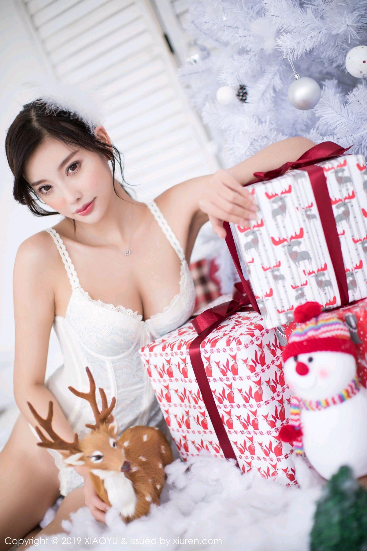 [XiaoYu] Vol.059 Christmas Theme 22P, Christmas, Underwear, XiaoYu, Yang Chen Chen