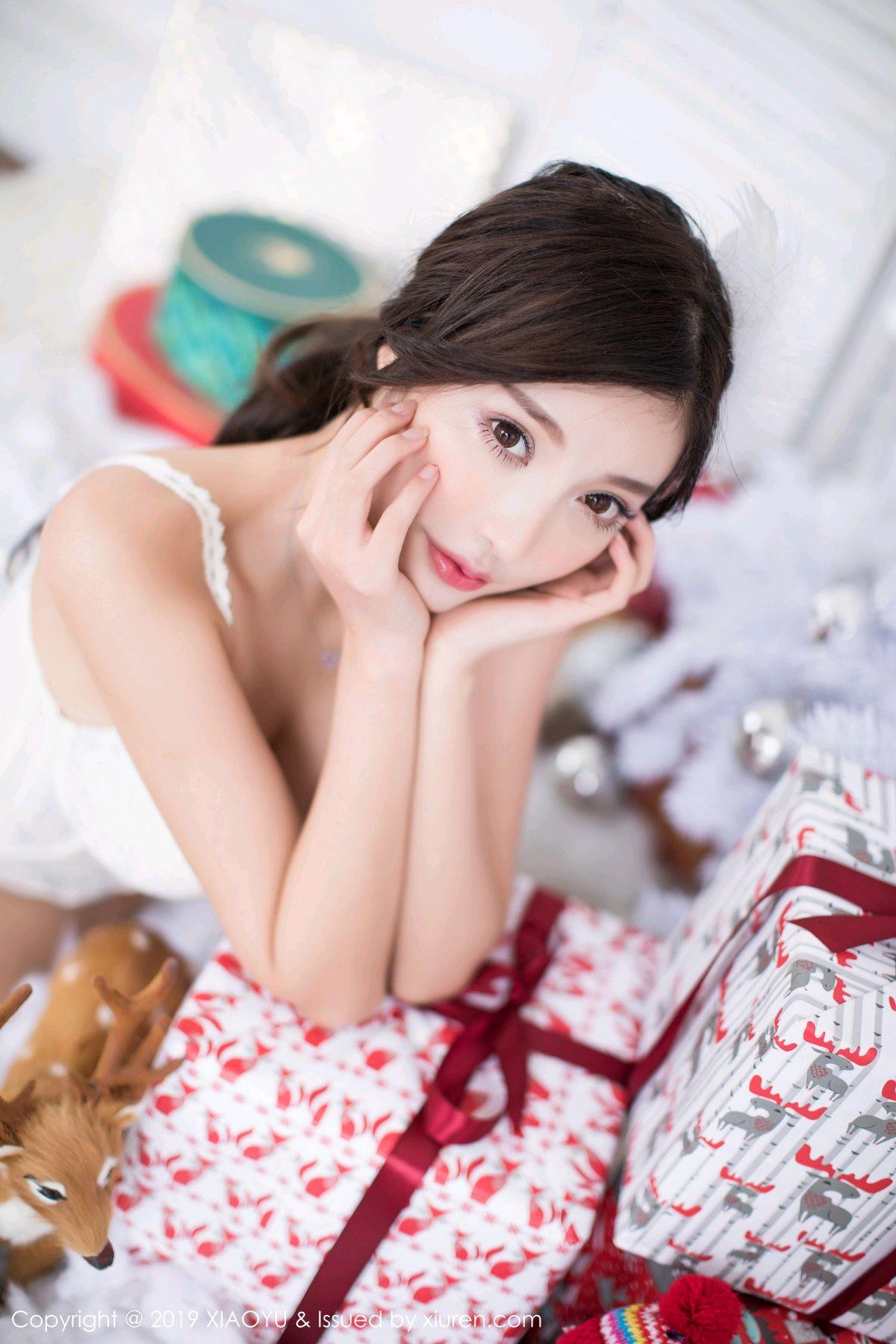 [XiaoYu] Vol.059 Christmas Theme 24P, Christmas, Underwear, XiaoYu, Yang Chen Chen