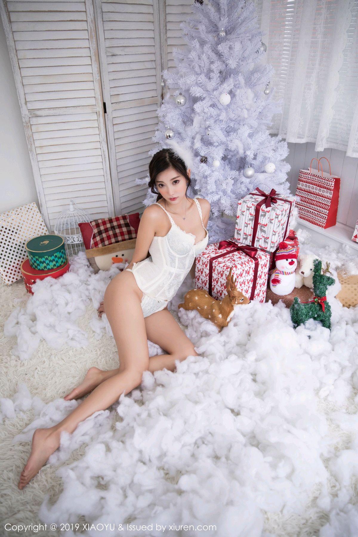 [XiaoYu] Vol.059 Christmas Theme 26P, Christmas, Underwear, XiaoYu, Yang Chen Chen
