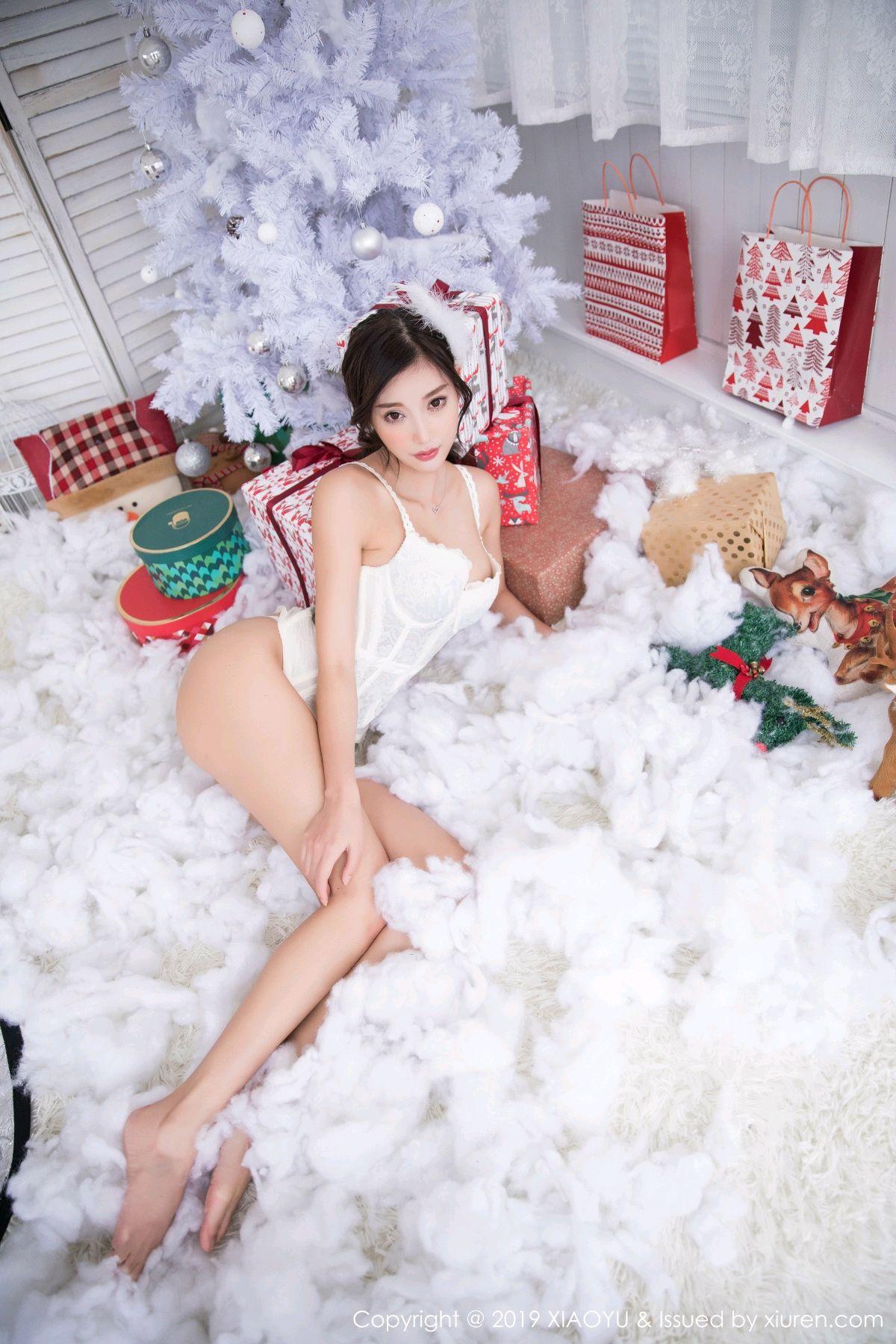 [XiaoYu] Vol.059 Christmas Theme 31P, Christmas, Underwear, XiaoYu, Yang Chen Chen