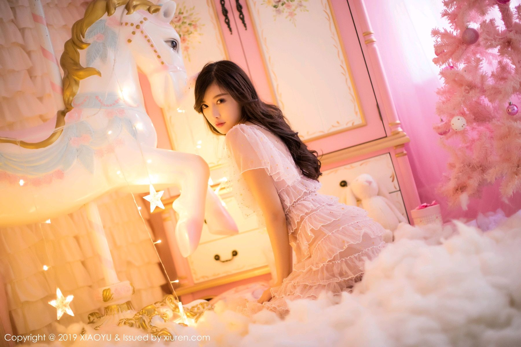 [XiaoYu] Vol.059 Christmas Theme 3P, Christmas, Underwear, XiaoYu, Yang Chen Chen