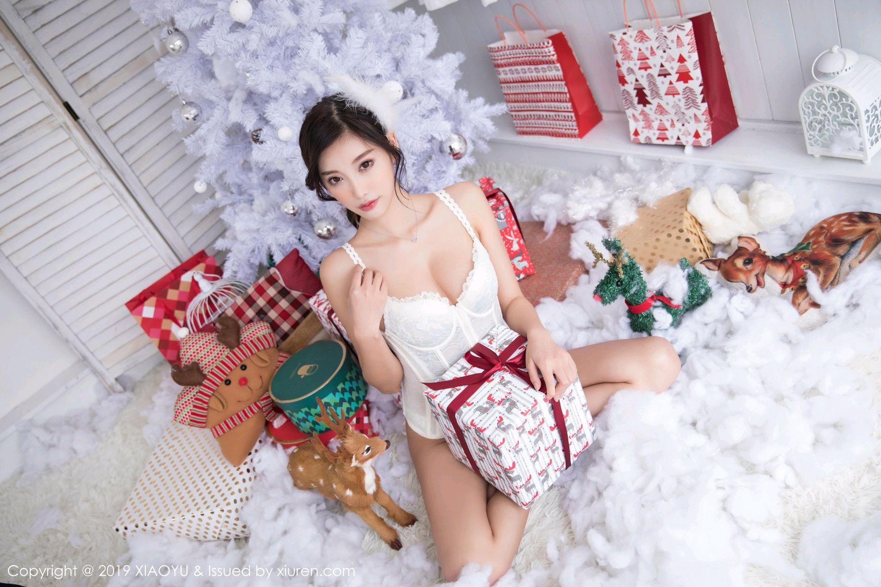 [XiaoYu] Vol.059 Christmas Theme 40P, Christmas, Underwear, XiaoYu, Yang Chen Chen