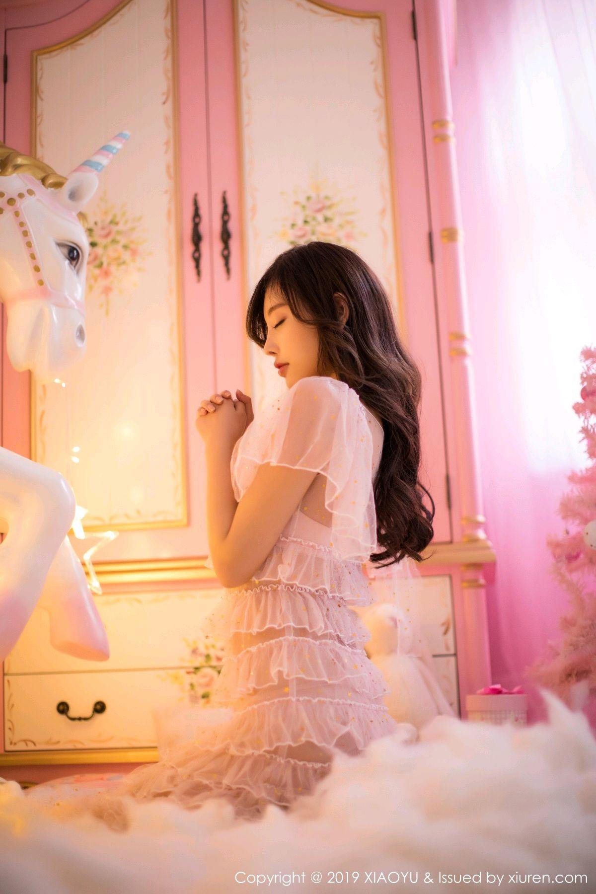 [XiaoYu] Vol.059 Christmas Theme 4P, Christmas, Underwear, XiaoYu, Yang Chen Chen