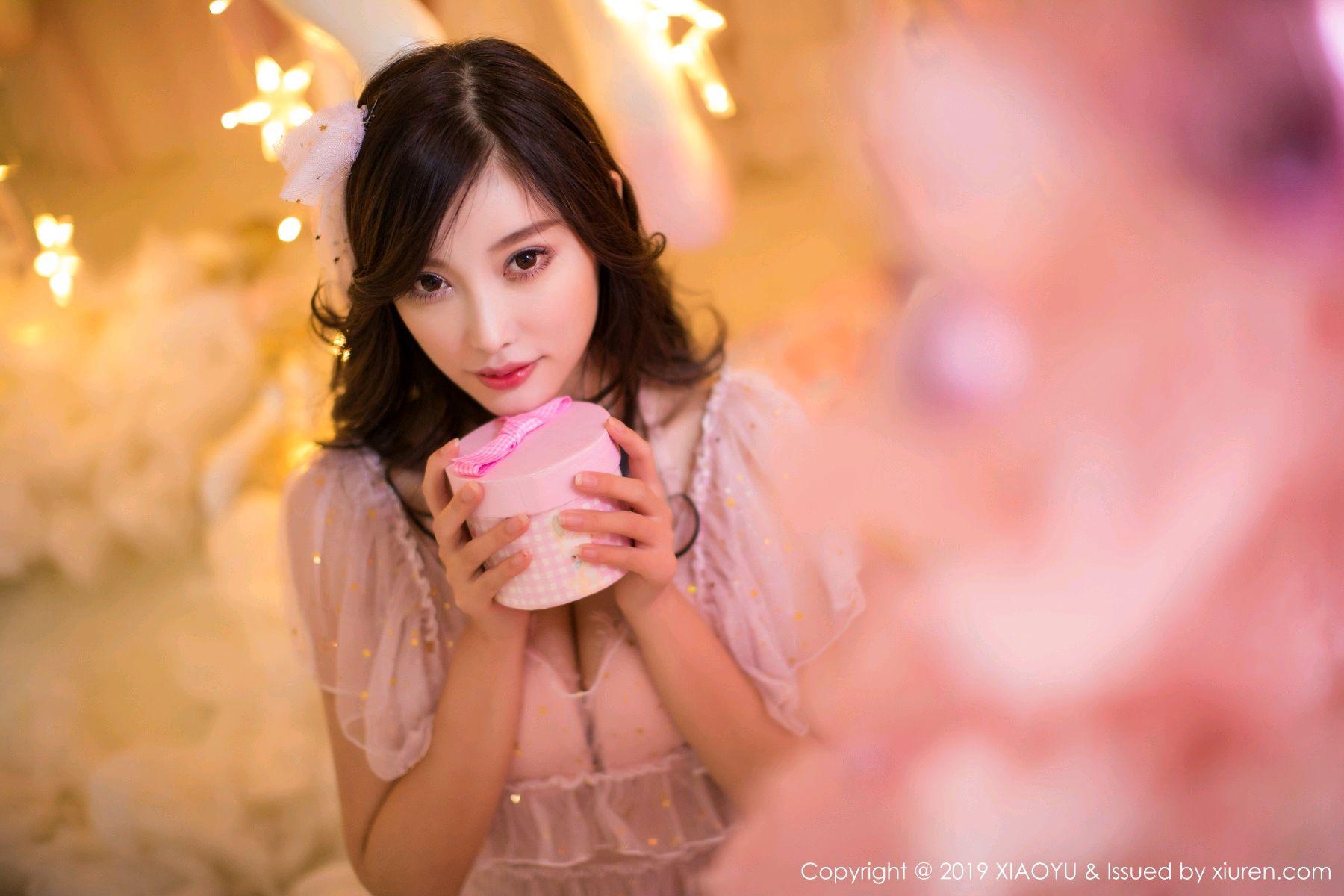 [XiaoYu] Vol.059 Christmas Theme 5P, Christmas, Underwear, XiaoYu, Yang Chen Chen