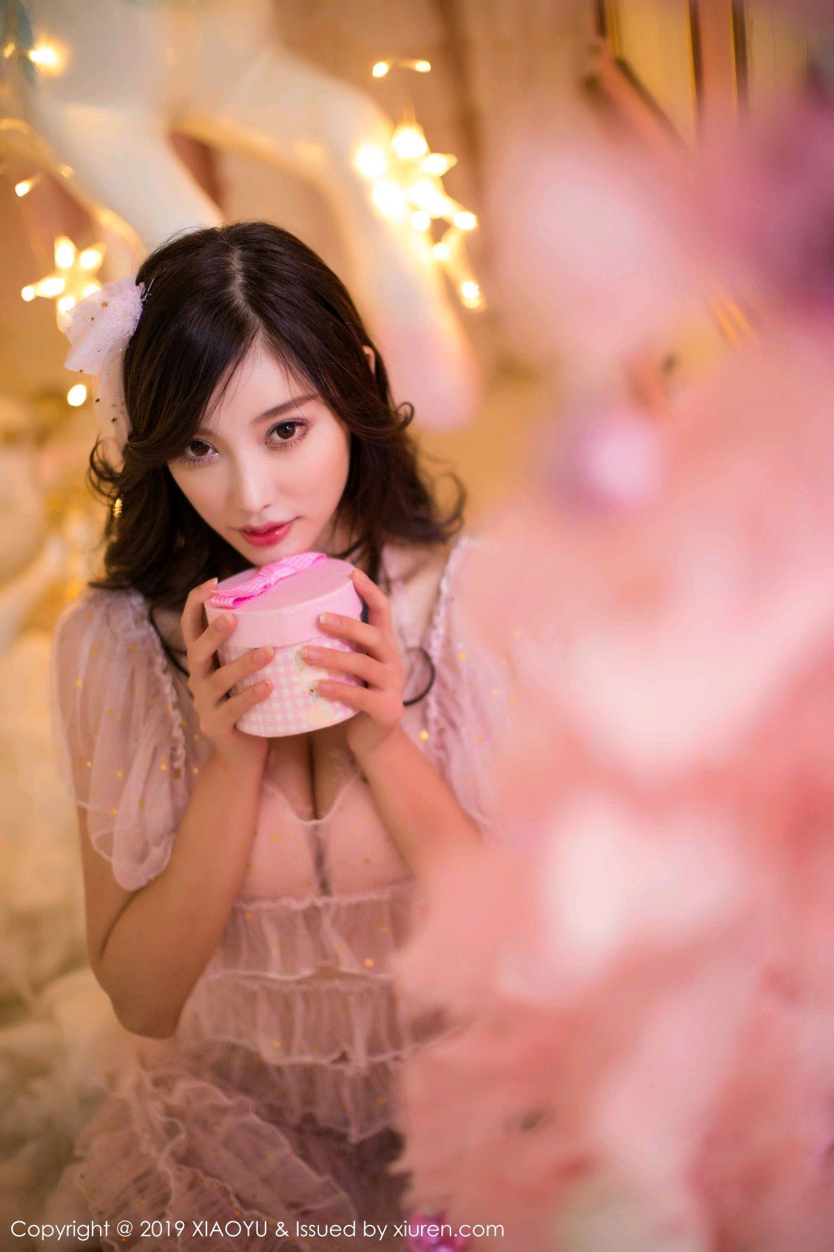 [XiaoYu] Vol.059 Christmas Theme 6P, Christmas, Underwear, XiaoYu, Yang Chen Chen