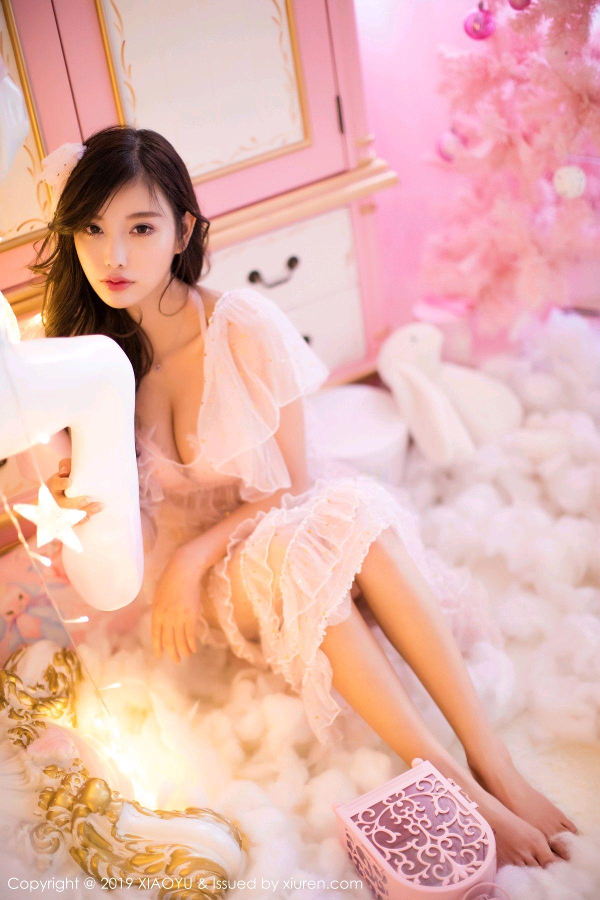 [XiaoYu] Vol.059 Christmas Theme 8P, Christmas, Underwear, XiaoYu, Yang Chen Chen