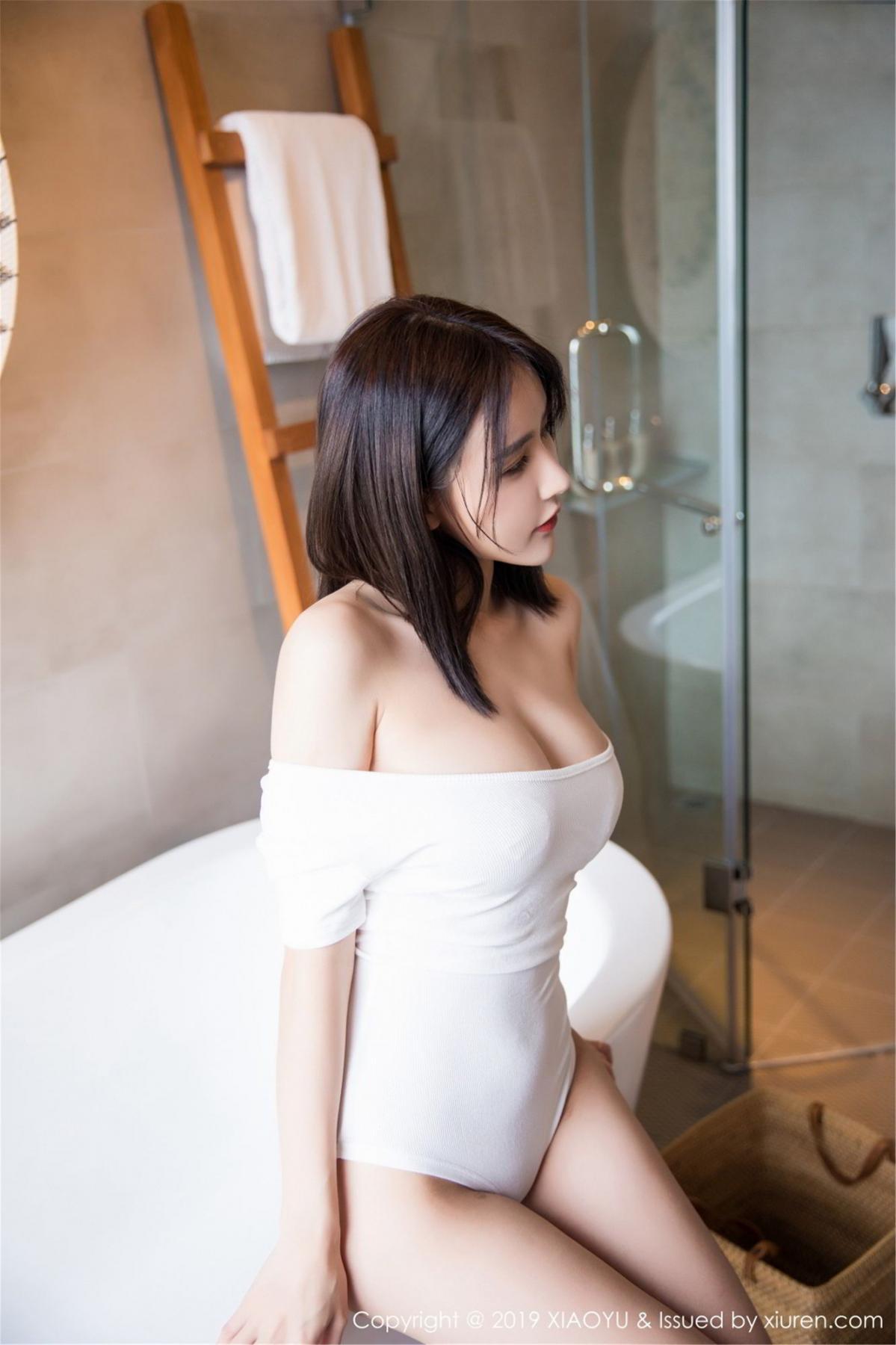 [XiaoYu] Vol.060 Xiao Mo Lin 25P, Bathroom, Lin Lin Ailin, Wet, XiaoYu