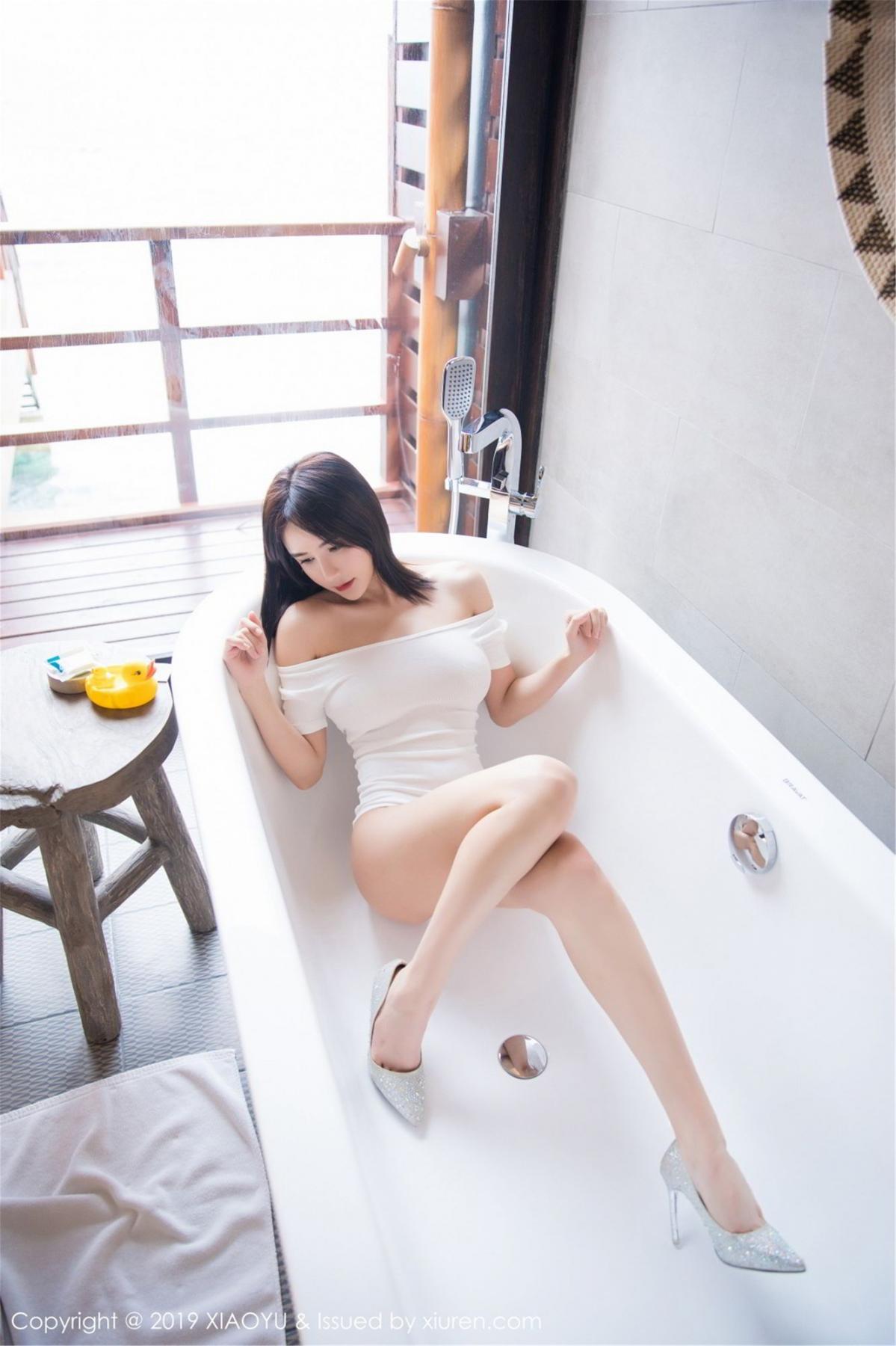 [XiaoYu] Vol.060 Xiao Mo Lin 26P, Bathroom, Lin Lin Ailin, Wet, XiaoYu