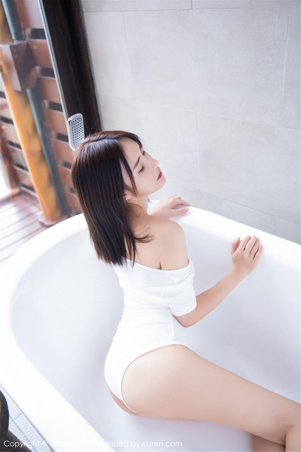 [XiaoYu] Vol.060 Xiao Mo Lin 32P, Bathroom, Lin Lin Ailin, Wet, XiaoYu