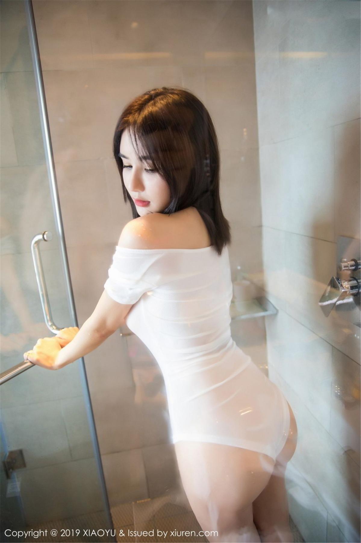 [XiaoYu] Vol.060 Xiao Mo Lin 49P, Bathroom, Lin Lin Ailin, Wet, XiaoYu