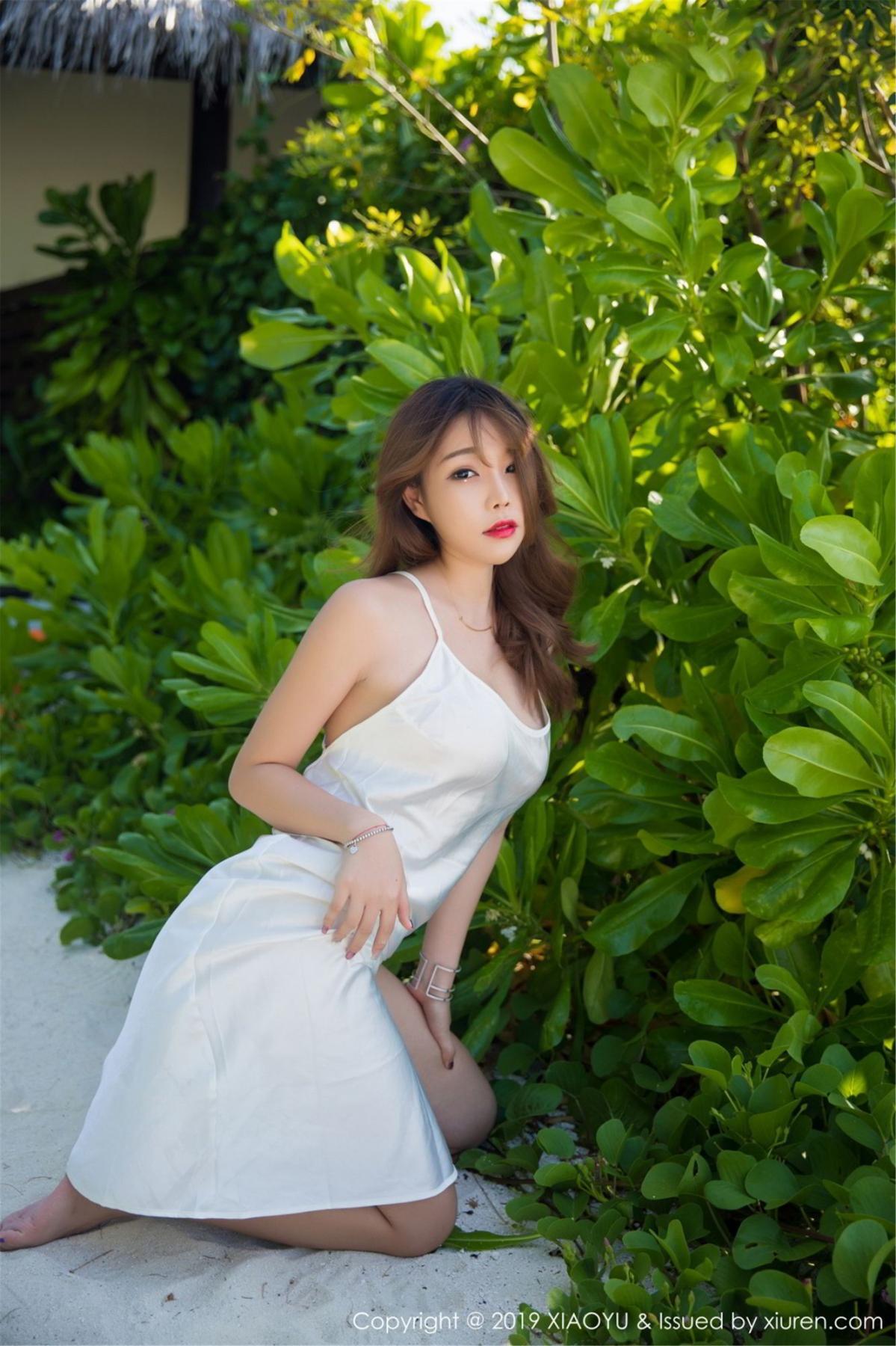 [XiaoYu] Vol.063 Booty 46P, Bathroom, Big Booty, Black Silk, Chen Zhi, XiaoYu